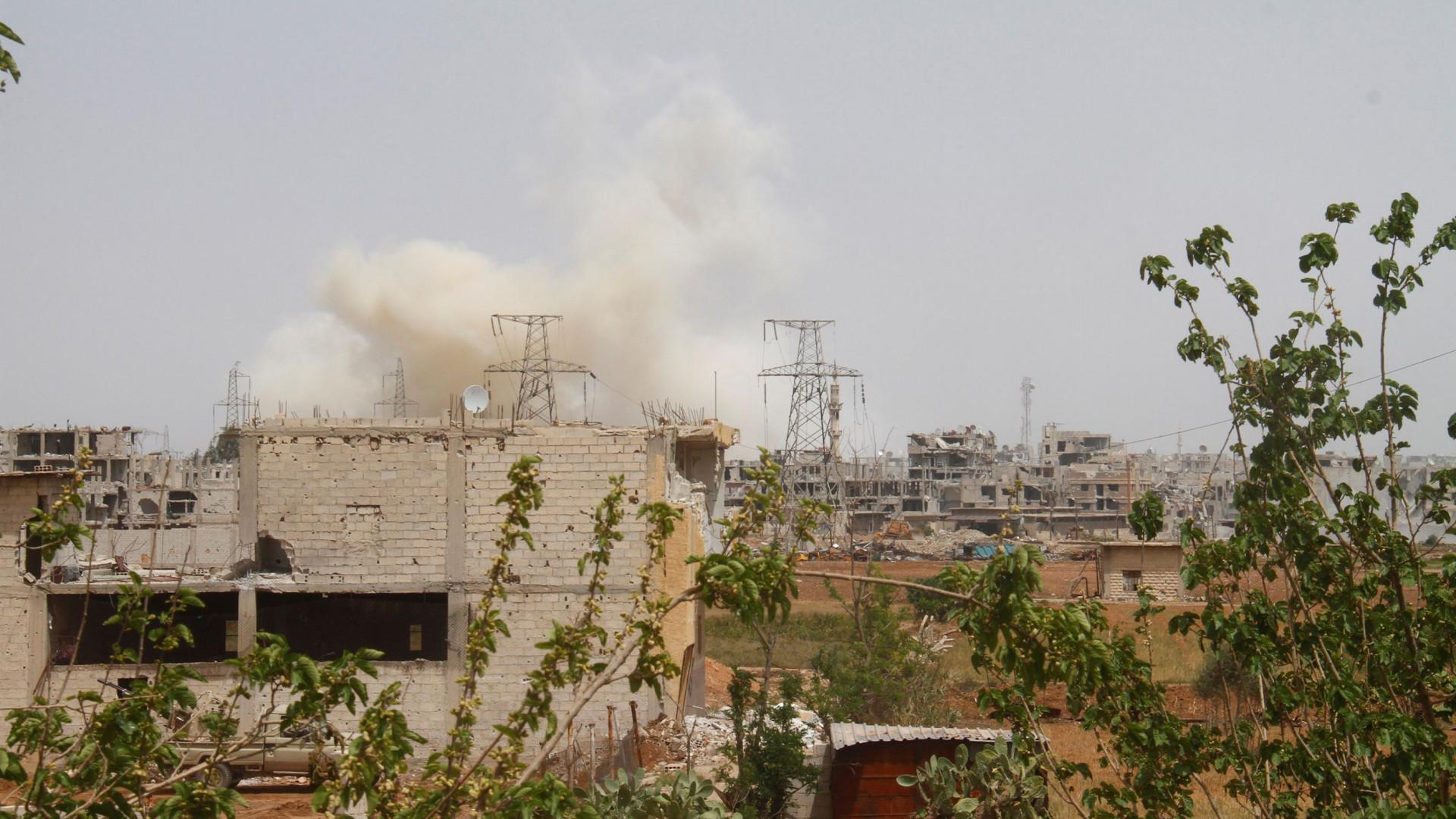 Israel lançou novo ataque contra território sírio