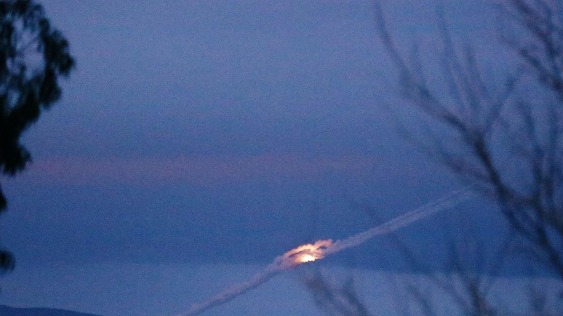 Síria: Exército anuncia interceção e destruição de dois mísseis israelitas