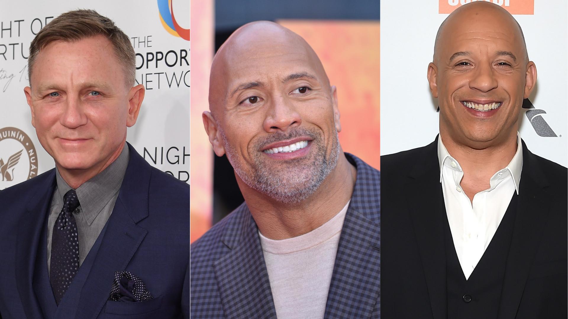 Eis a lista dos atores mais bem pagos de Hollywood