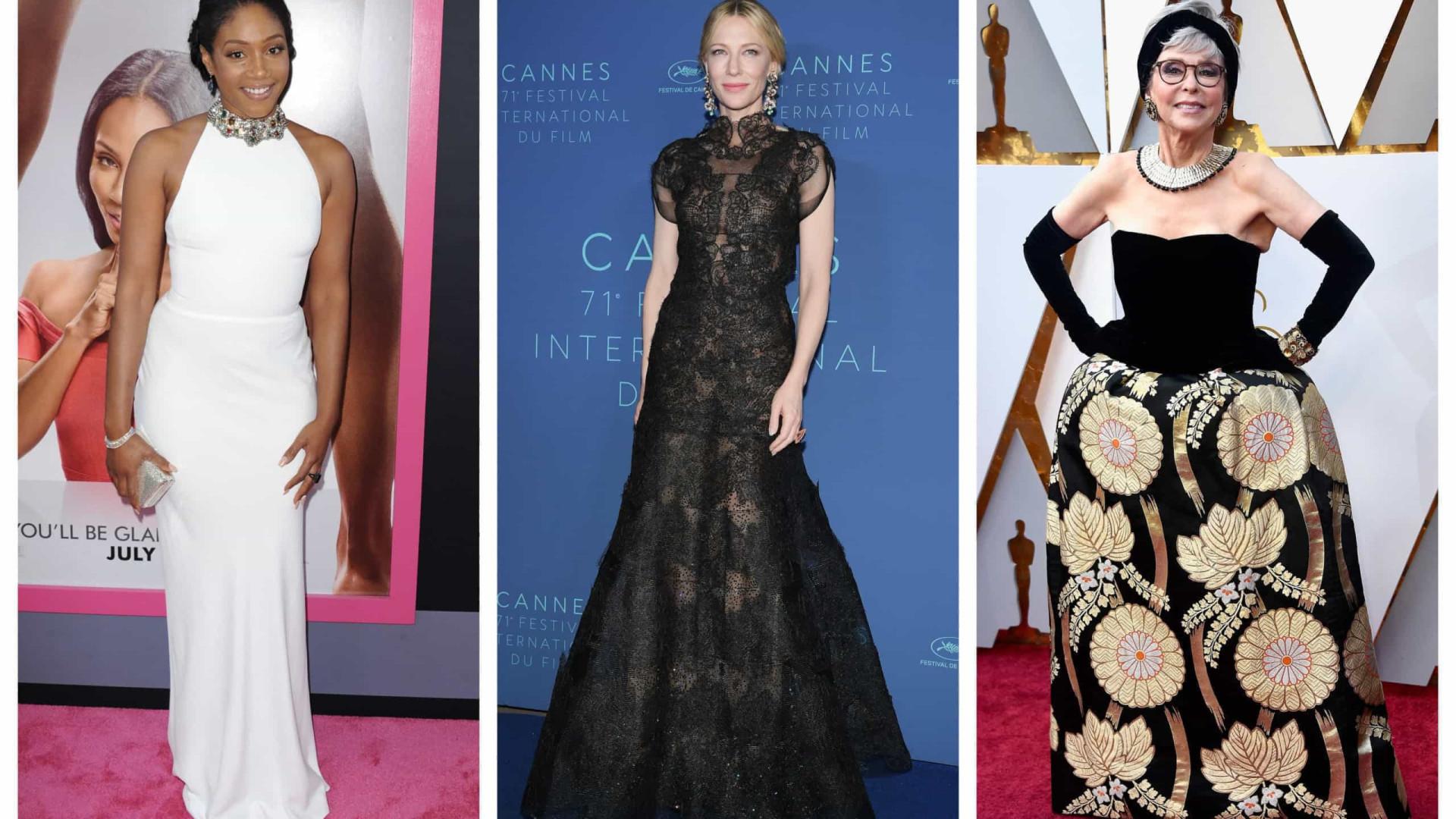 As celebridades que já repetiram as roupas em eventos importantes