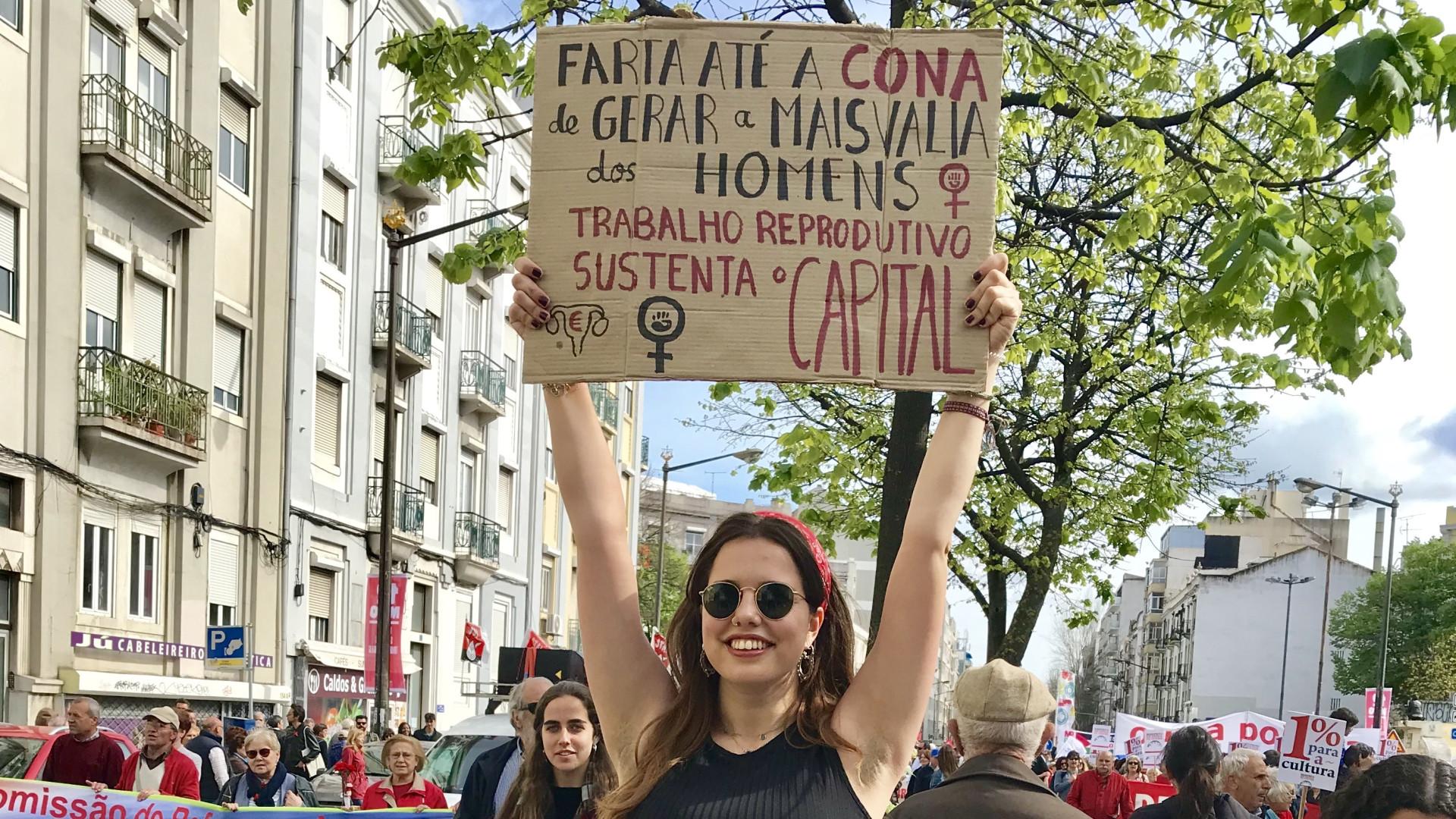"""Irene e o cartaz: """"'Coño' é uma palavra da qual temos de nos apropriar"""""""
