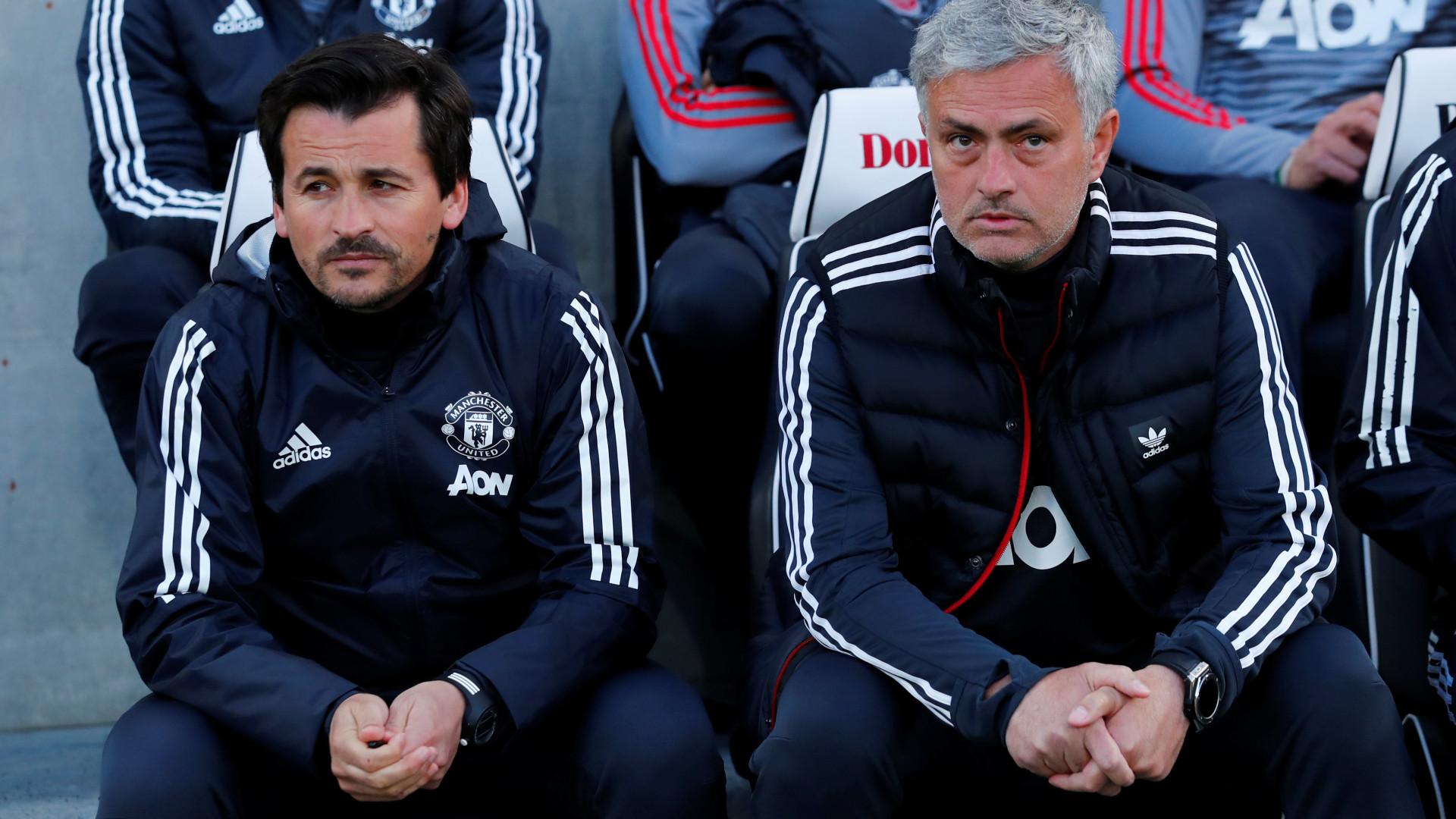 Rui Faria separa-se de José Mourinho 17 anos depois