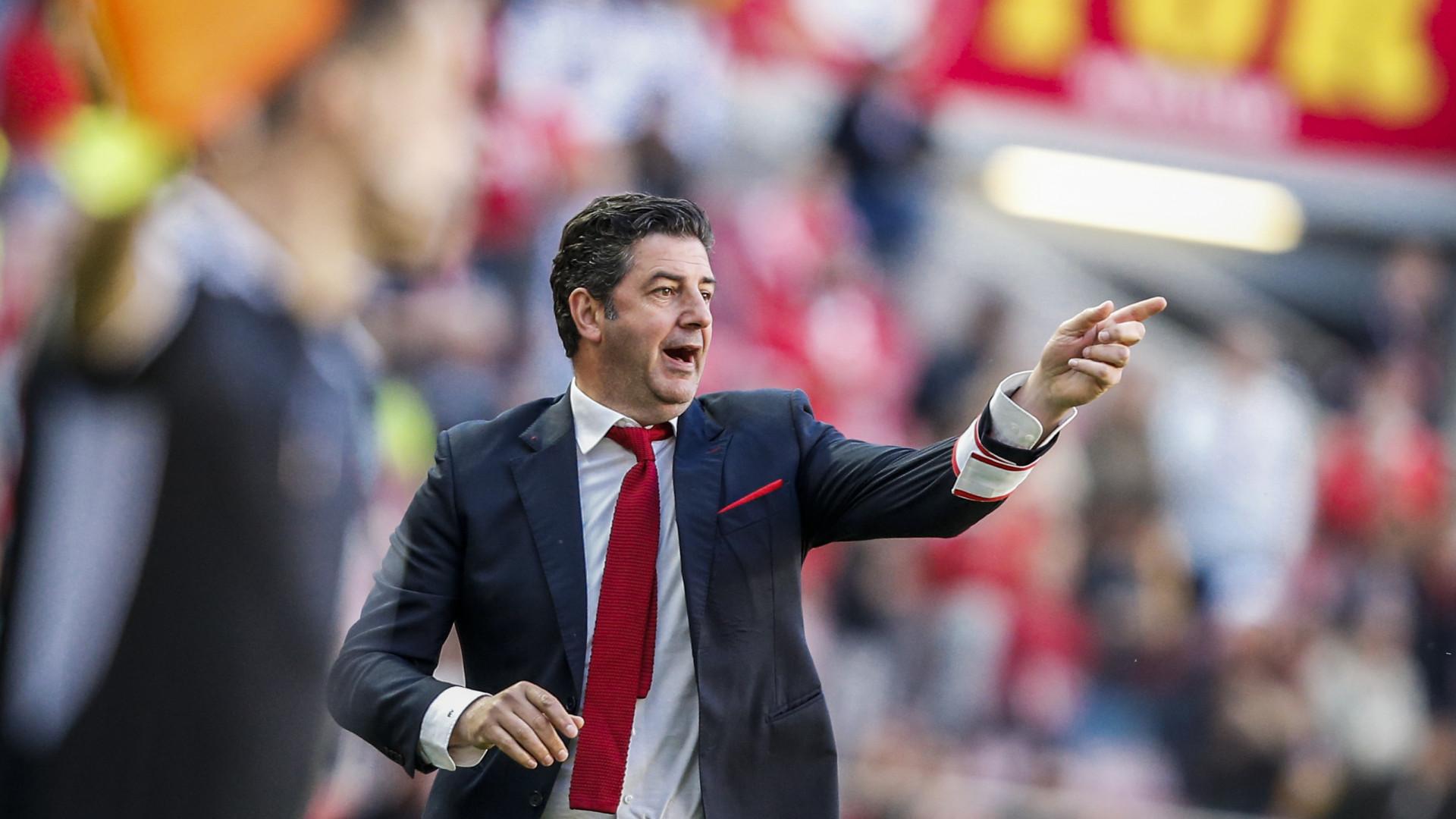 Benfica com baixa importante para a deslocação a Tondela