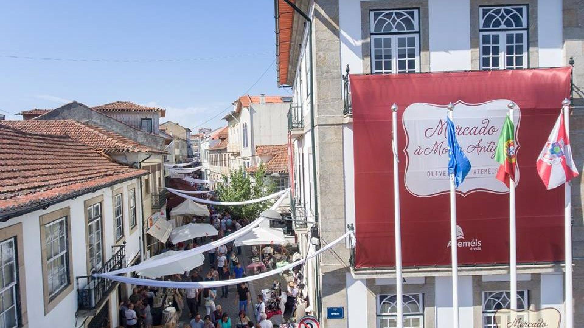 Oliveira de Azeméis promove Mercado à Moda Antiga e recupera tradição