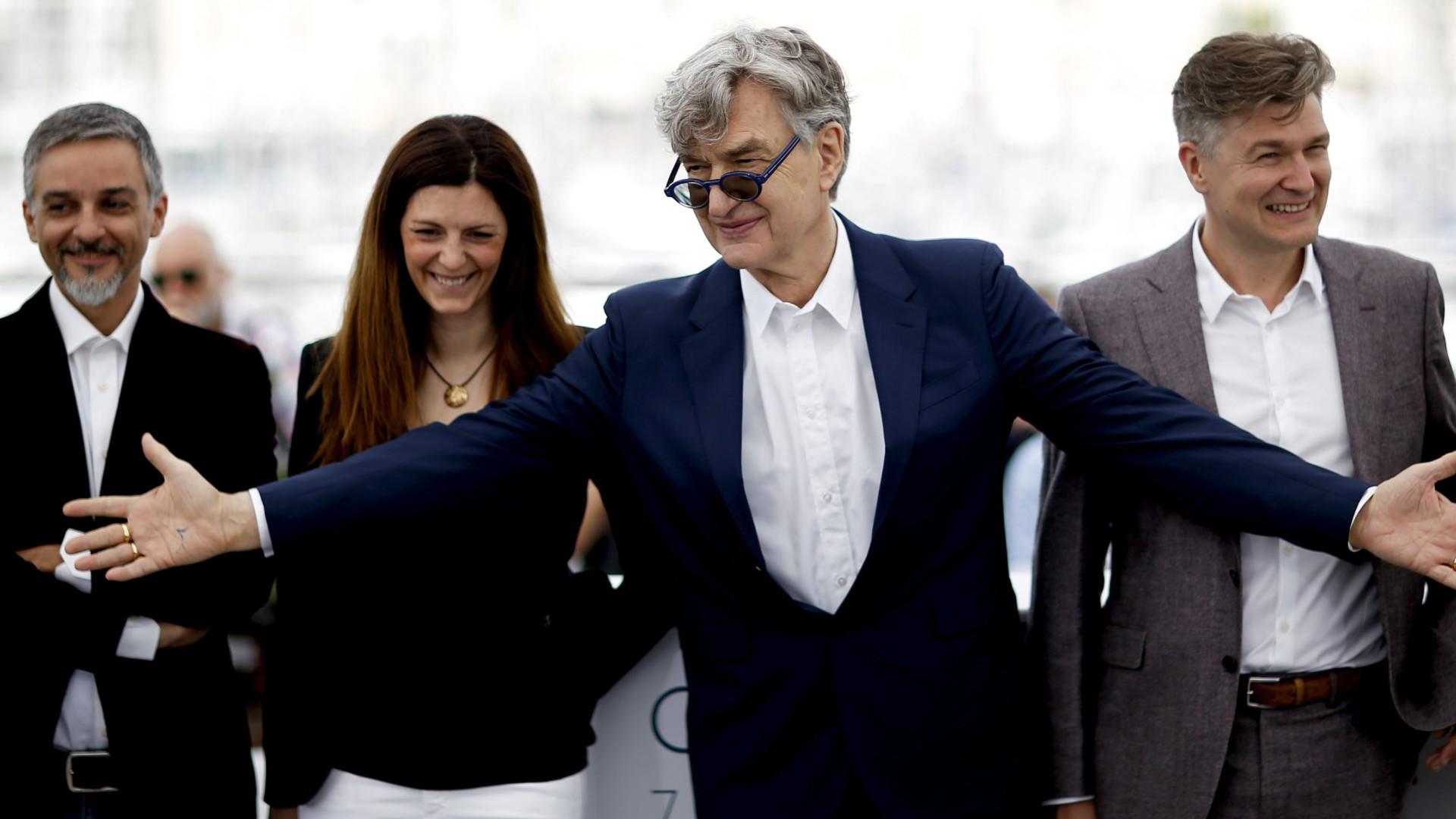 Wim Wenders apresentou em Cannes documentário sobre o Papa Francisco