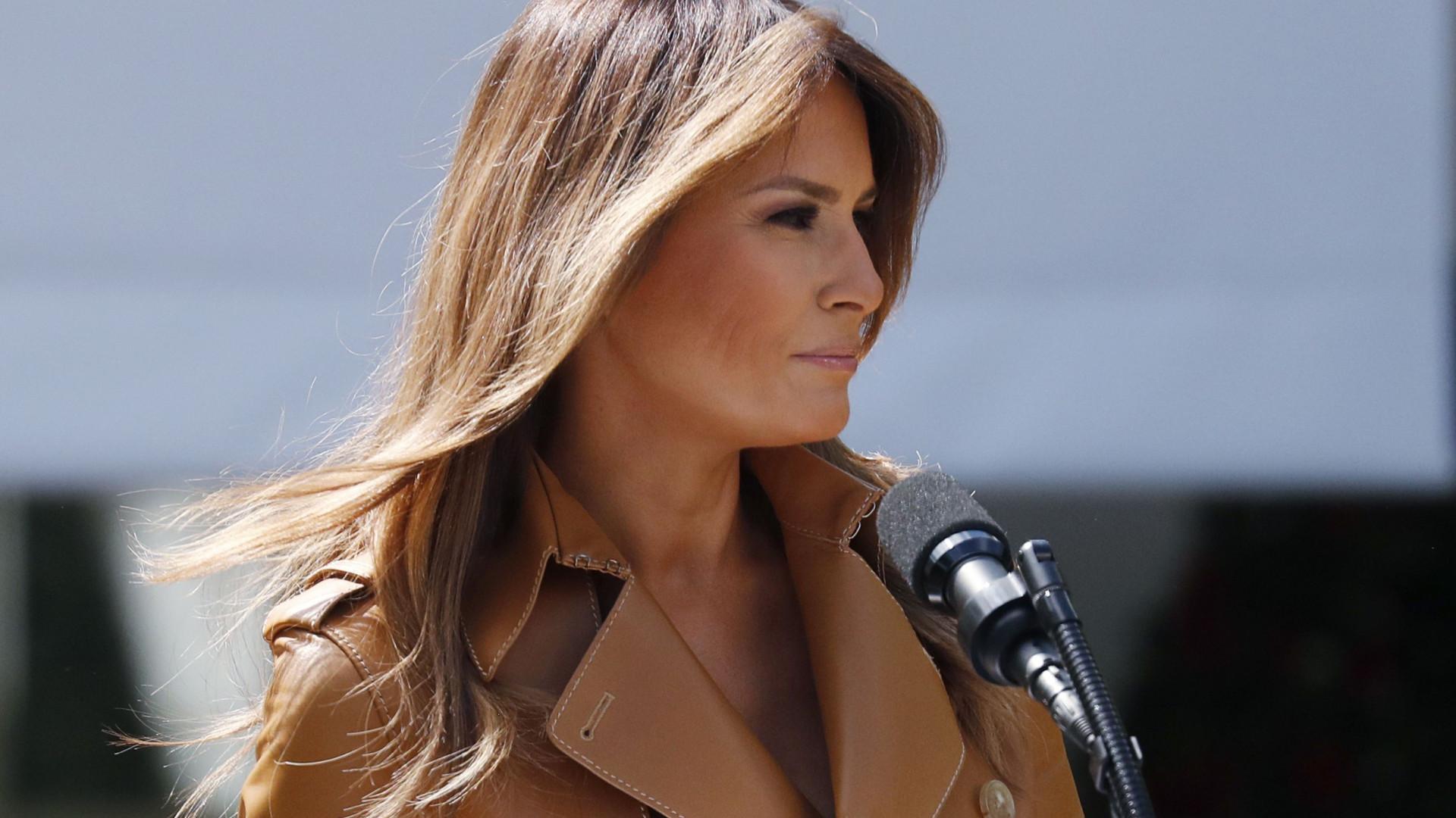 Melania Trump operada a um