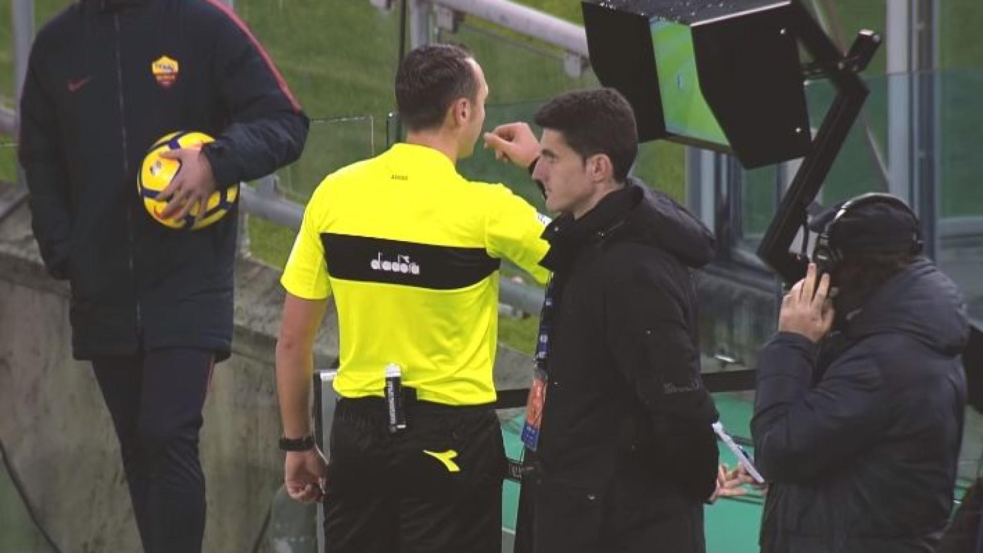 AS Roma ainda não esqueceu a Champions. A ironia para a UEFA