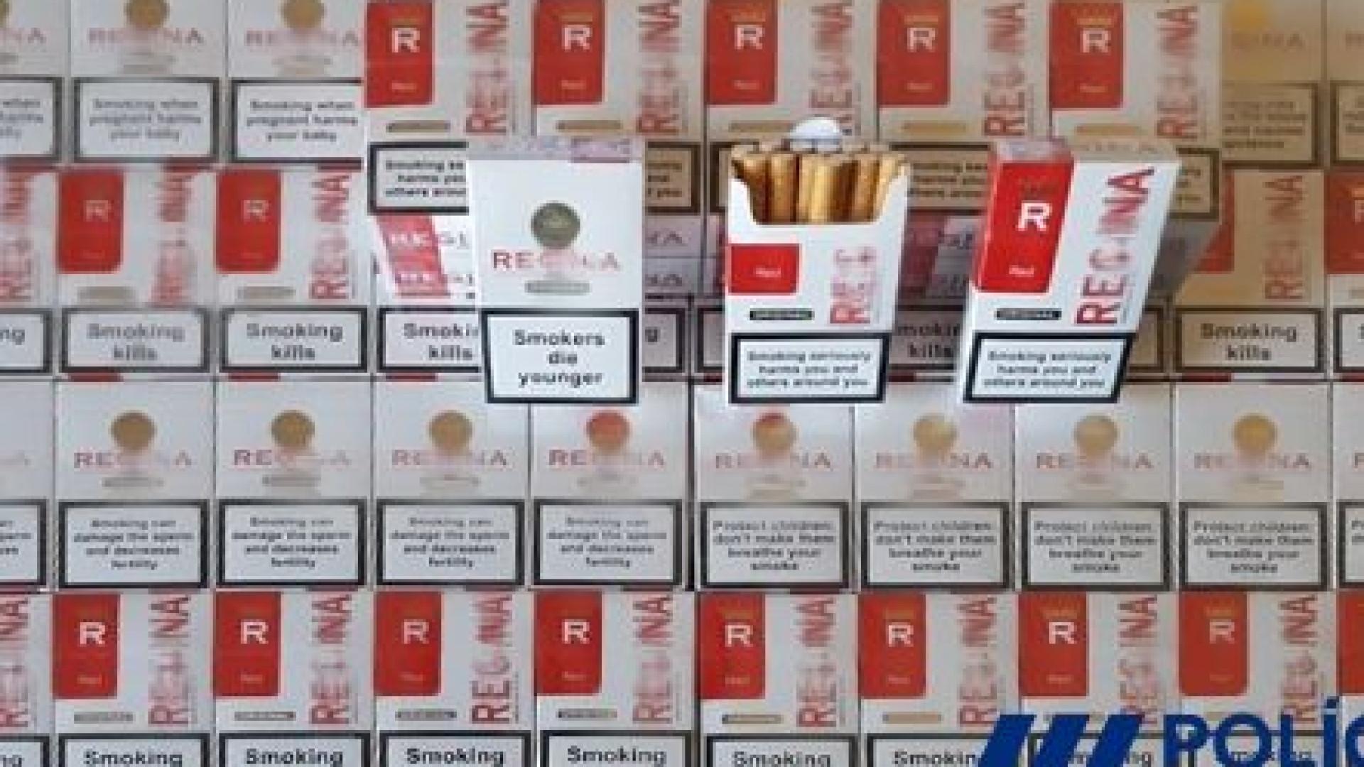 PSP apreende 92 maços de tabaco sem selo fiscal