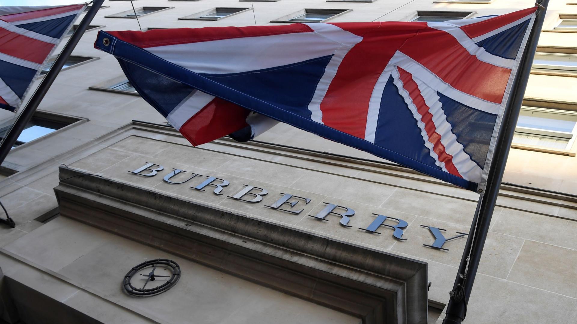 Lucro da Burberry cresce 4,5% no último exercício para 471 milhões