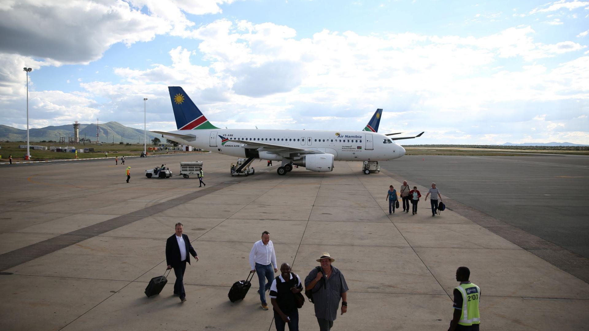 Air Namíbia quer aumentar ligações a mais quatro províncias de Angola