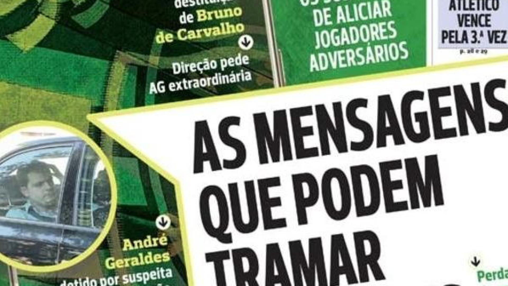 """Imprensa: O """"caos"""" e as mensagens que podem tramar o Sporting"""