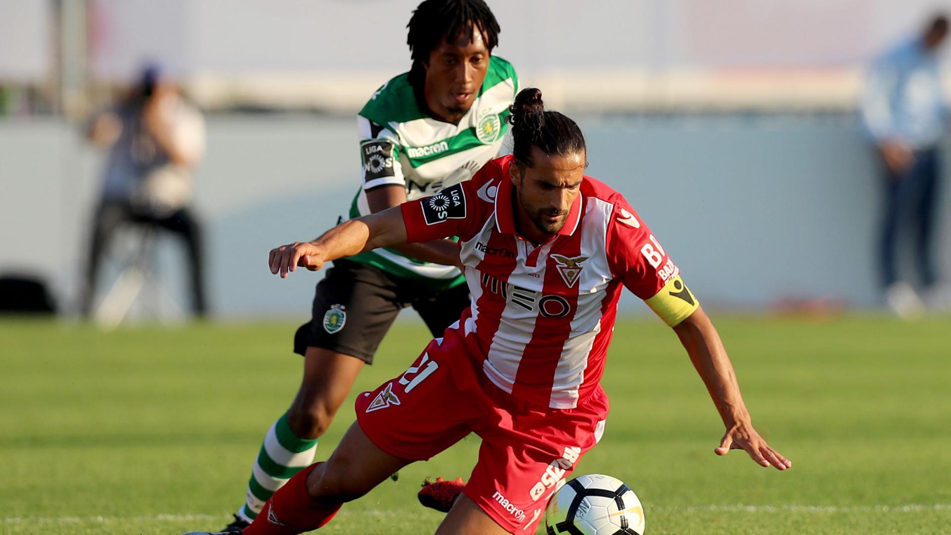 """Aves defende capitão Lenho após polémica com Sporting: """"Total confiança"""""""