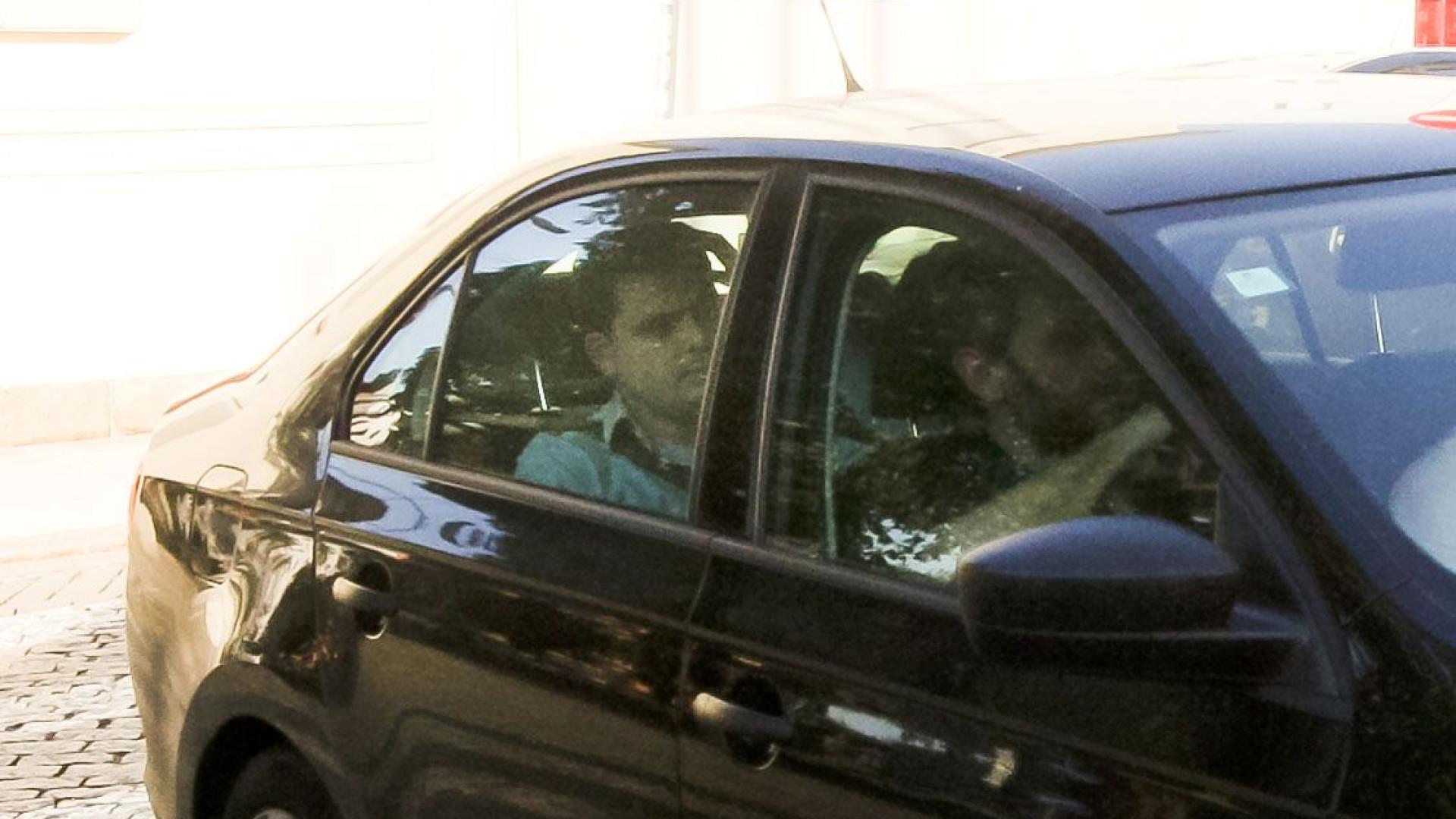 André Geraldes e restantes detidos já estão no TIC do Porto