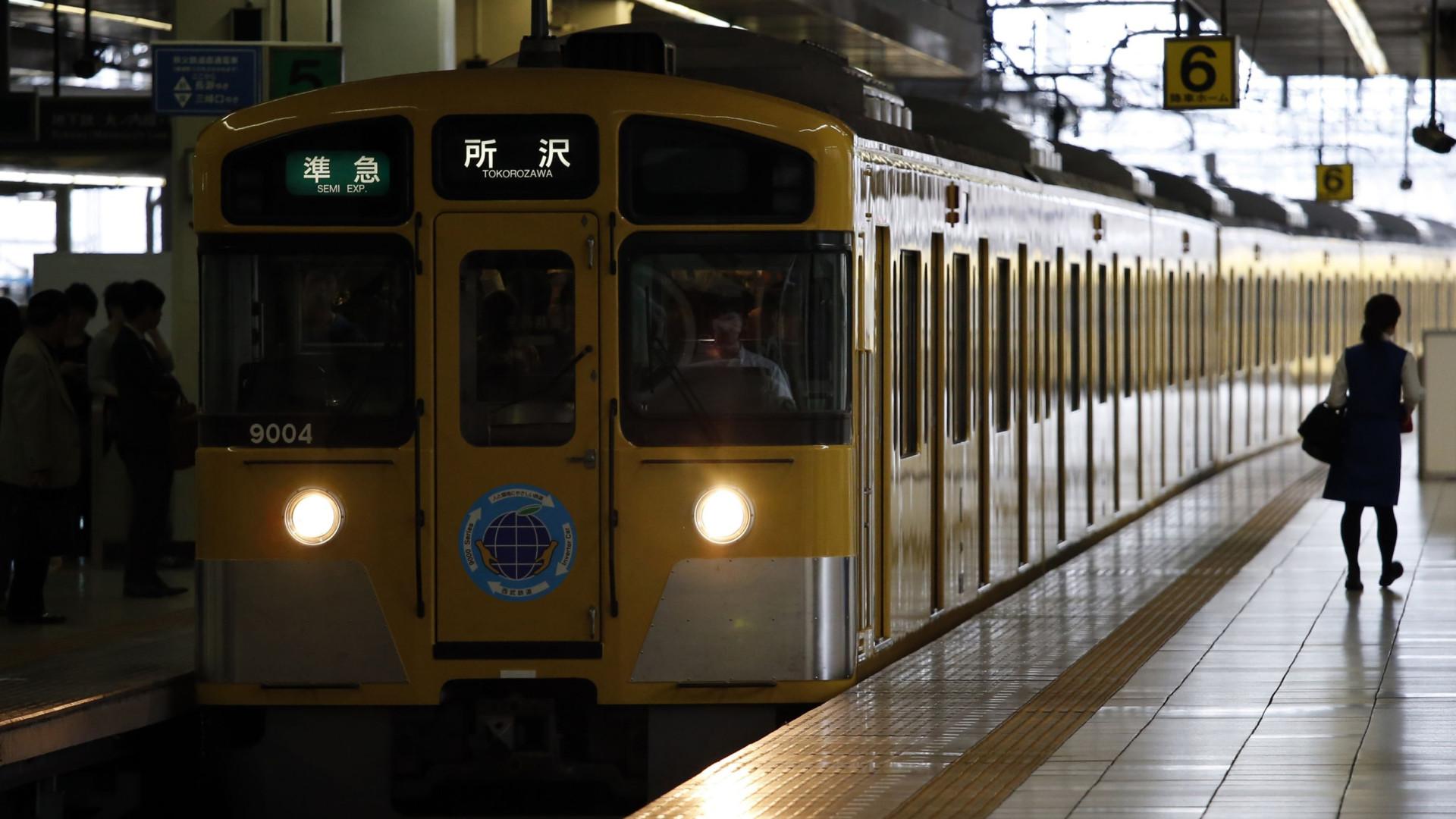 Japão: Empresa pede desculpas porque comboio partiu 25 segundos mais cedo
