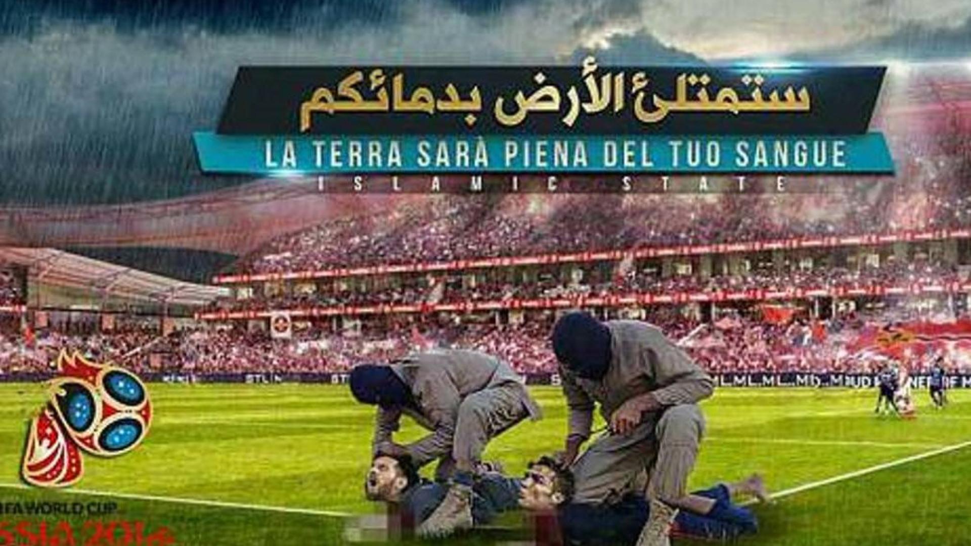 Com o Mundial à porta, Daesh volta a ameaçar Ronaldo e Messi