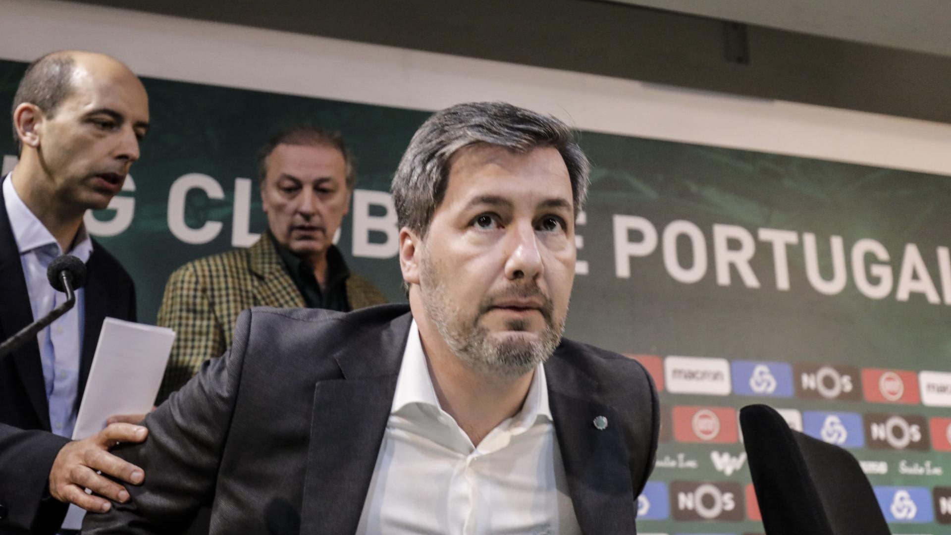 Conferência de imprensa do Sporting às 20h30