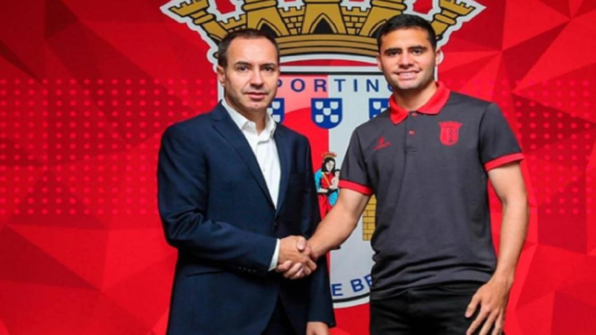 Sp. Braga 'pescou' dois reforços no Estoril