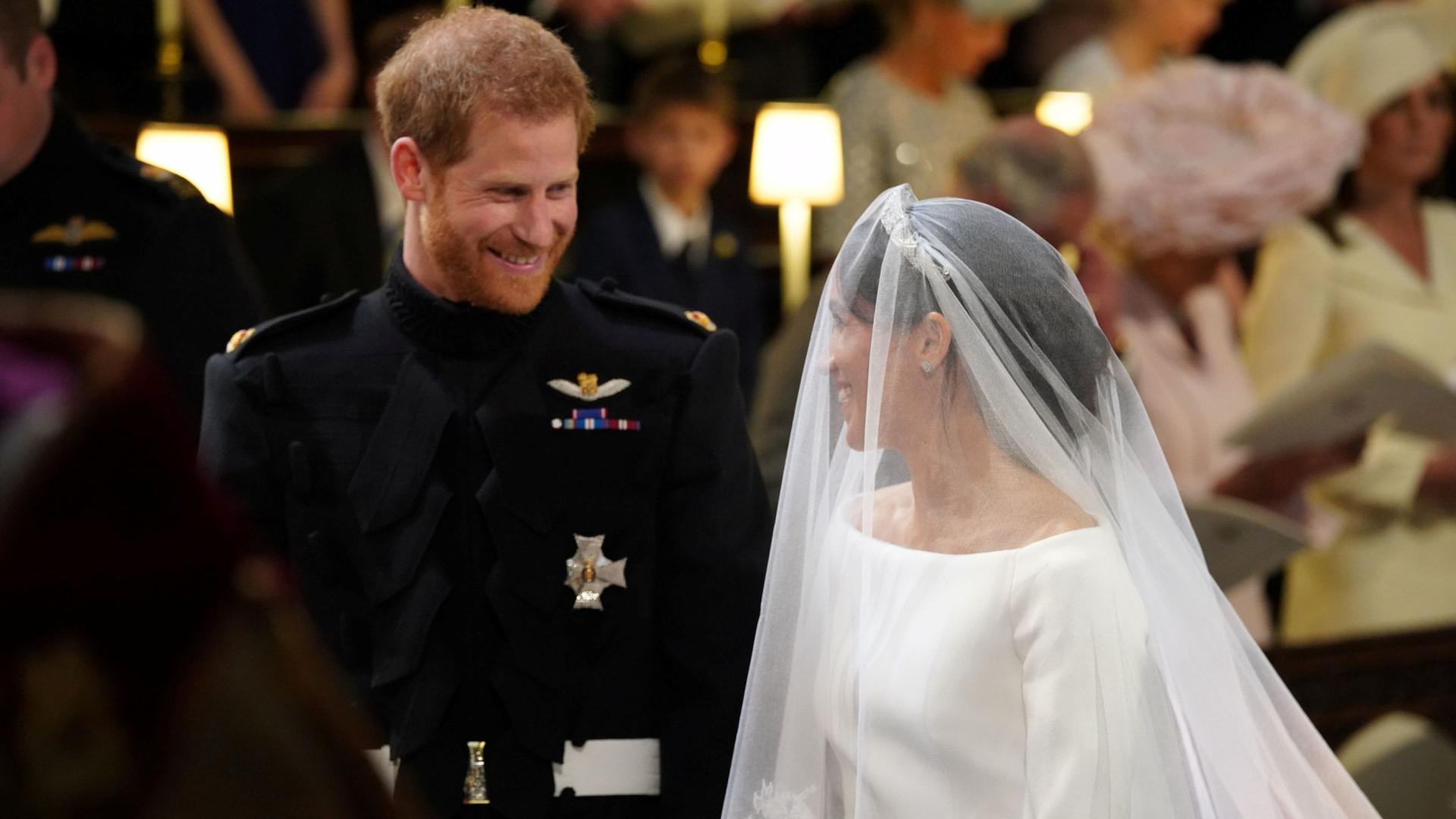 """""""Foi amor à primeira vista"""": Markle emocionou com declaração a Harry"""