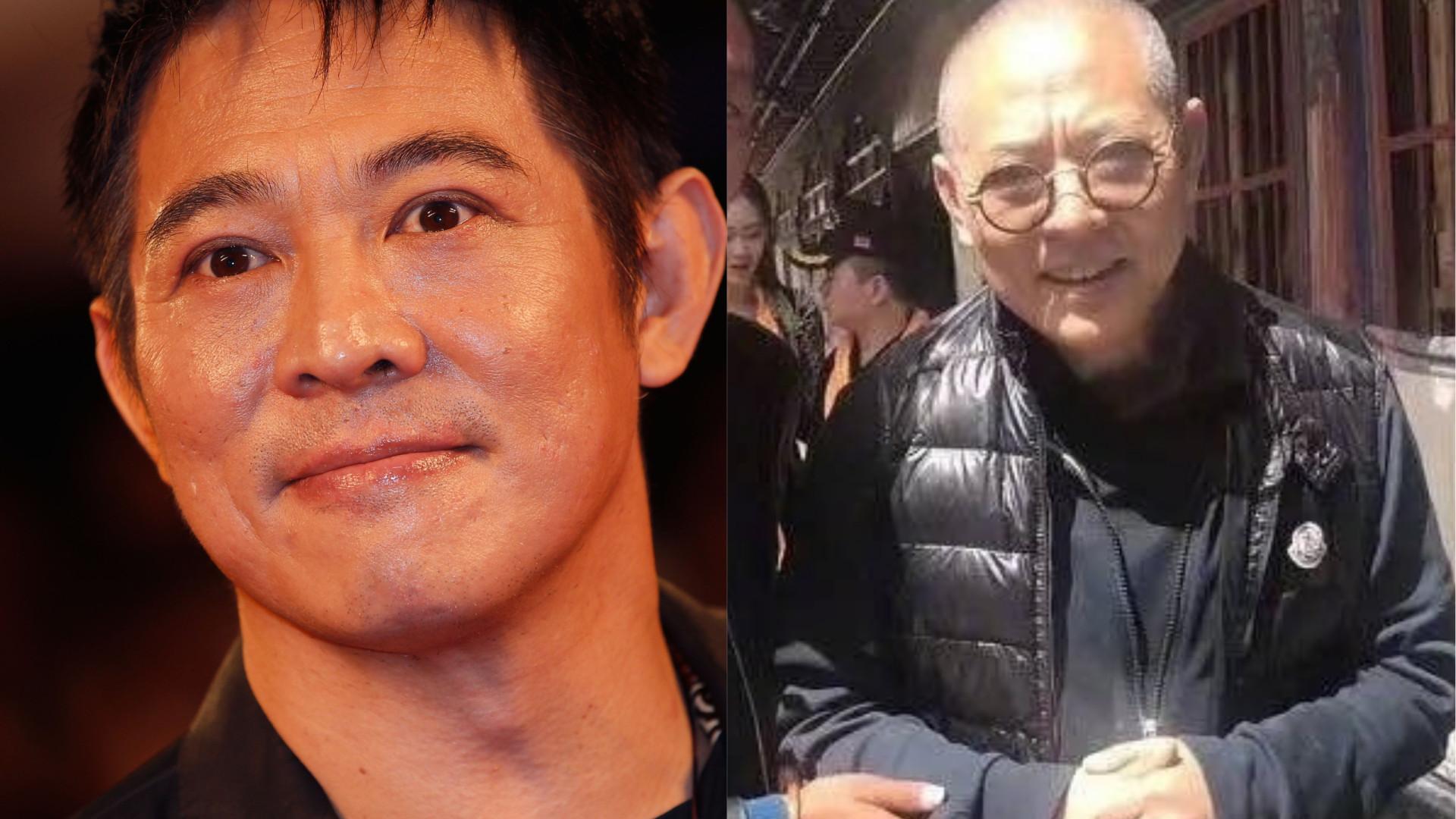 Aparência debilitada de Jet Li impressiona fãs