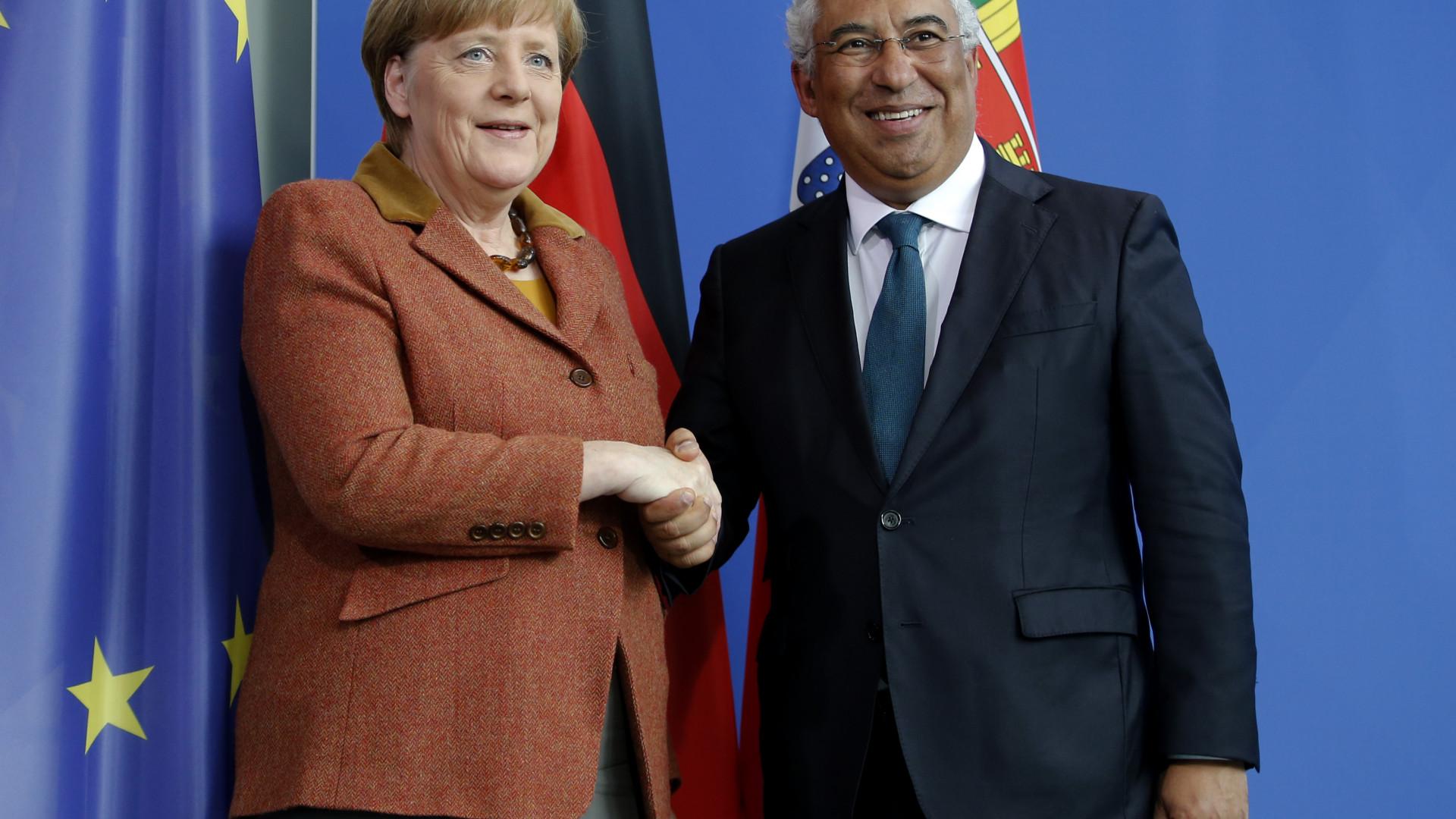 Costa convidou e Merkel aceitou. Chanceler alemã vem a Portugal este mês