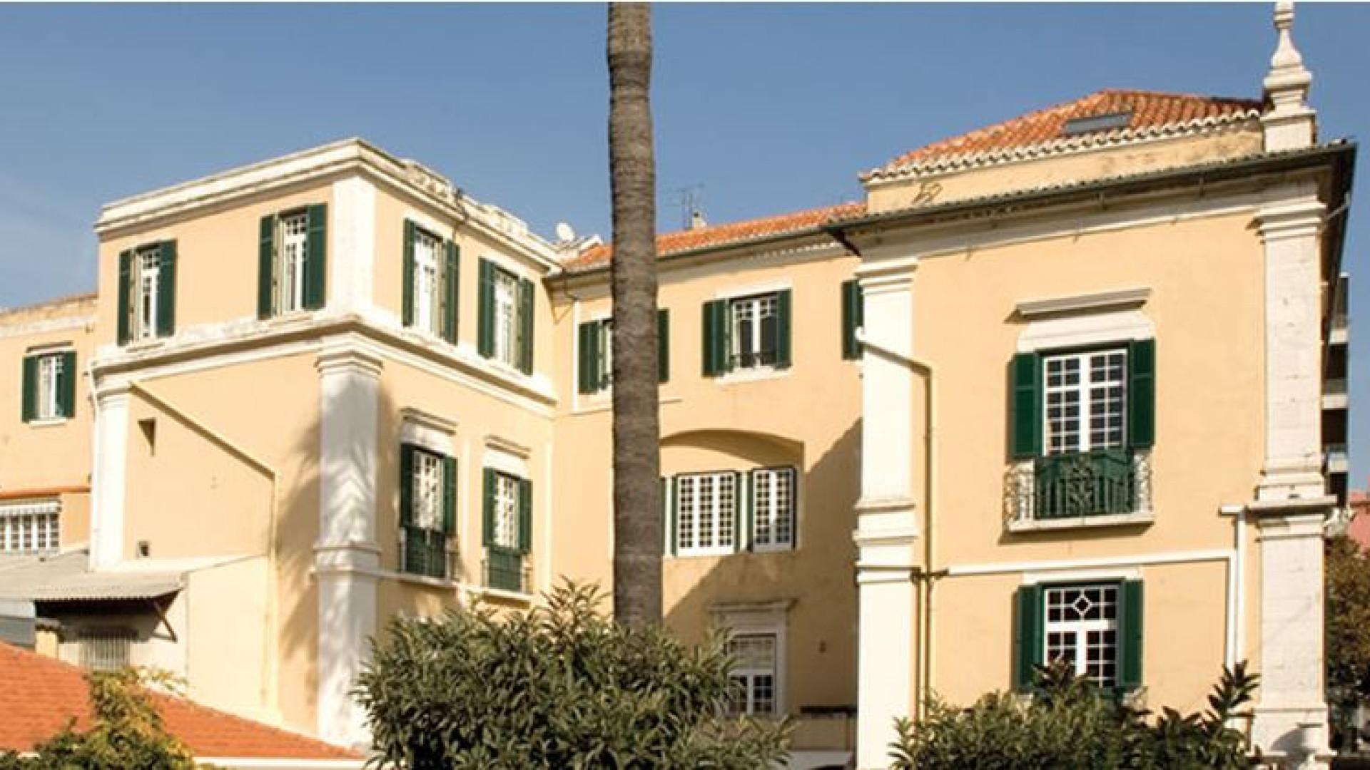 Universidade de Lisboa põe à venda Palácio Centeno... e pede 6,5 milhões