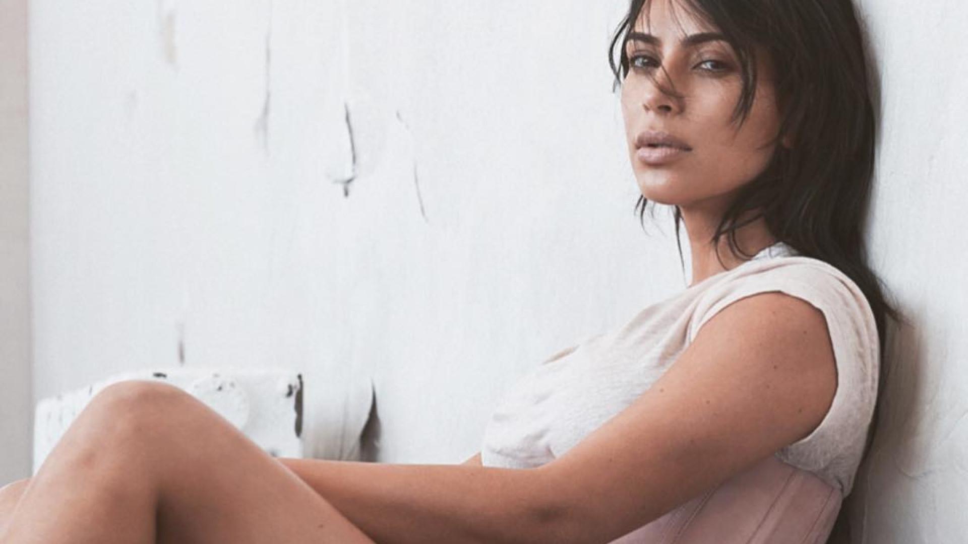 Kim Kardashian mostra mamilos nas redes sociais e gera polémica