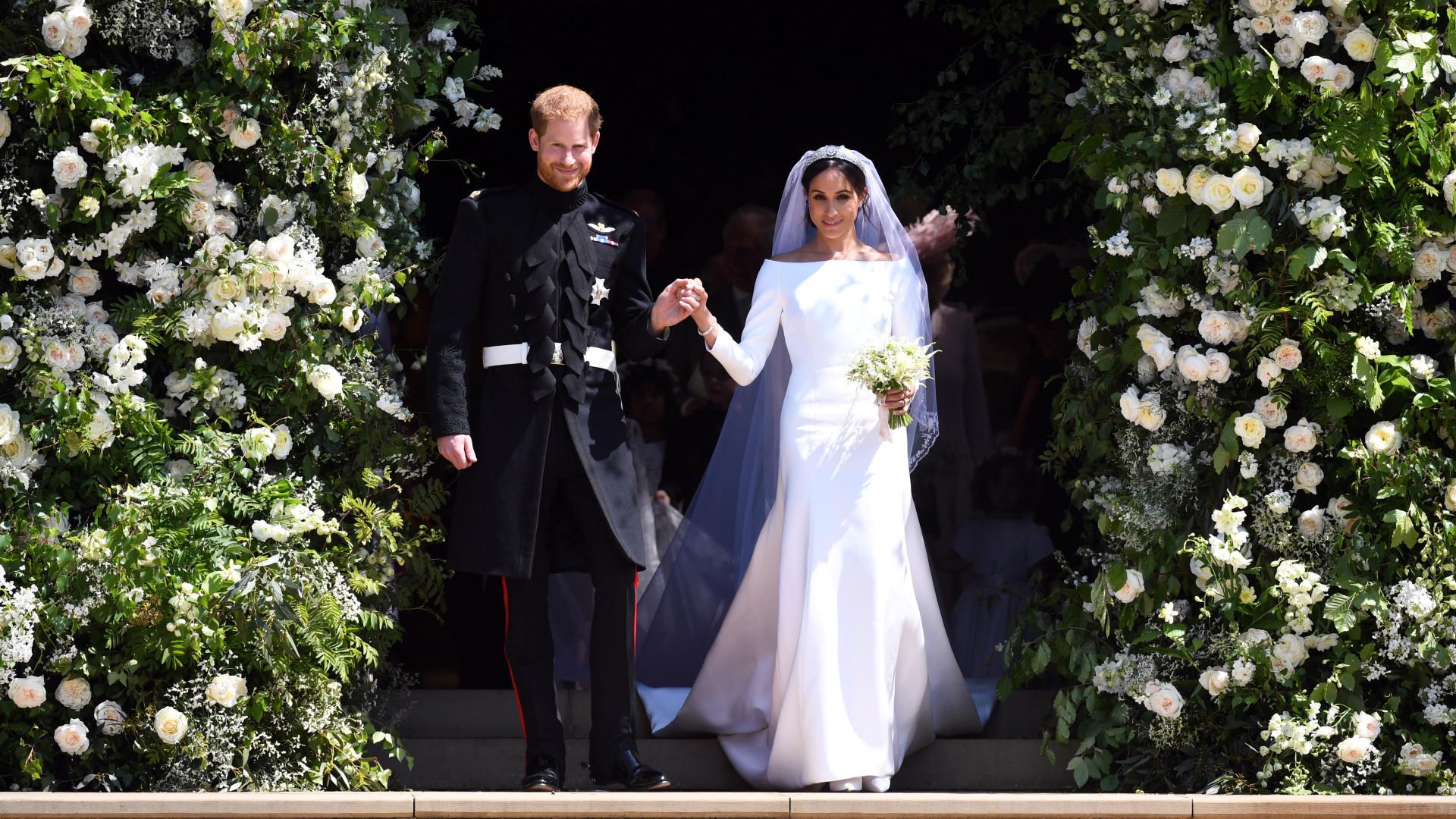 Compre um vestido de casamento igual ao de Meghan… por apenas 65 euros