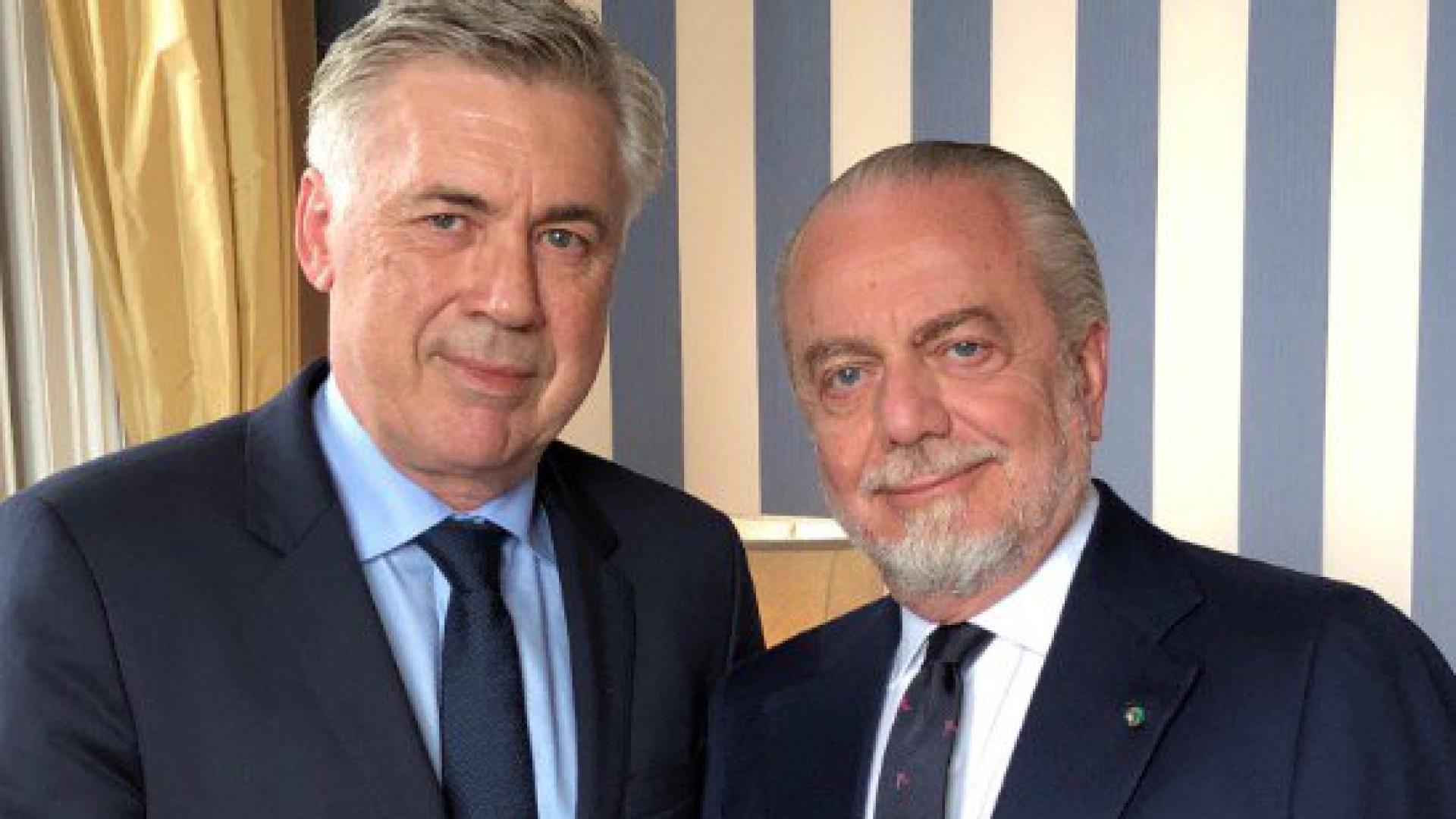 Oficial: Ancelotti assume comando técnico do Nápoles