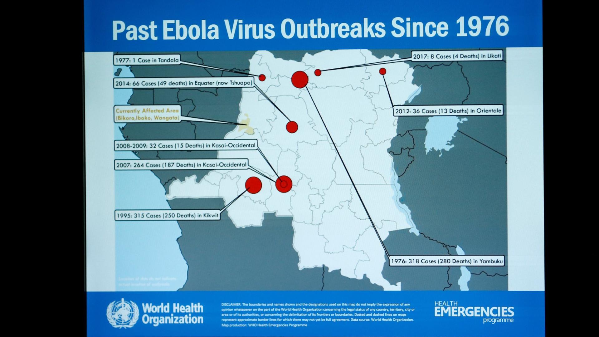 Três doentes fogem do hospital e ameaçam esforços de contenção de Ébola