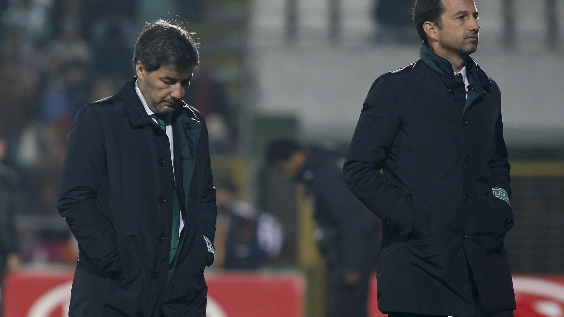"""""""O Sporting está doente. Vou tratá-lo e depois torná-lo mais forte"""""""