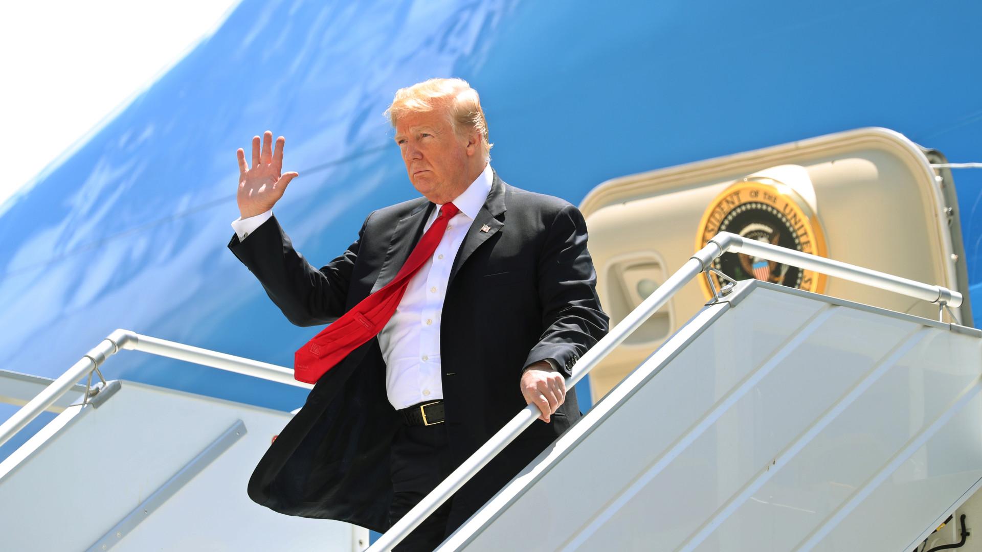 Donald Trump cancela cimeira com Kim Jong-un em junho