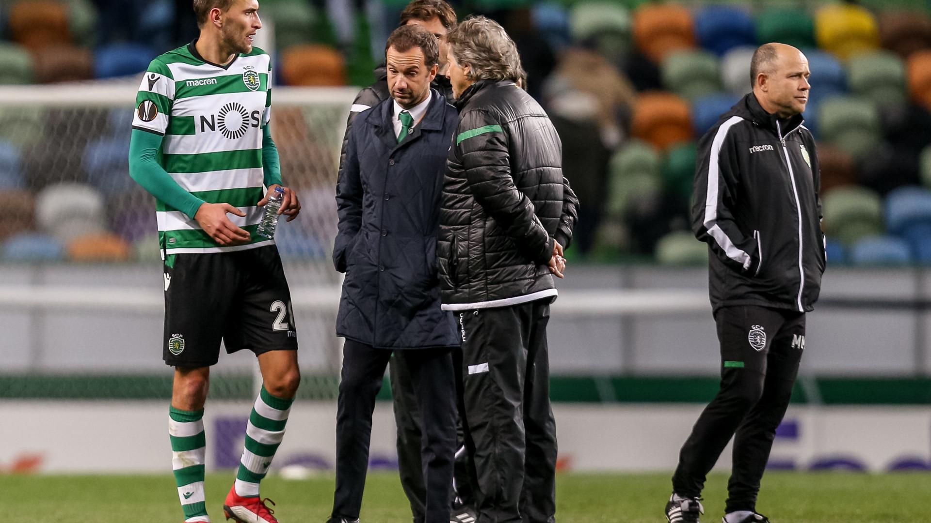 """Sporting lamenta demissão """"inusitada"""" de Frederico Varandas"""