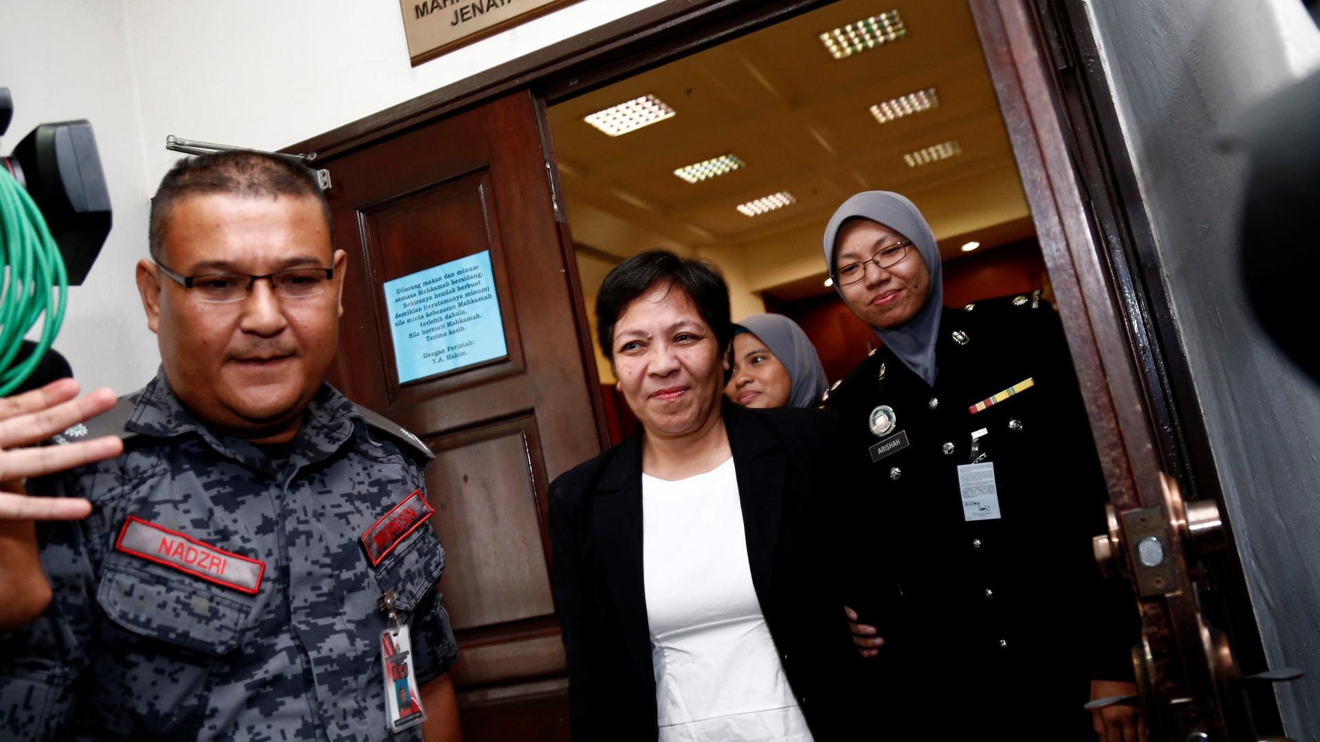 Avó australiana condenada a pena de morte na Malásia por tráfico de droga