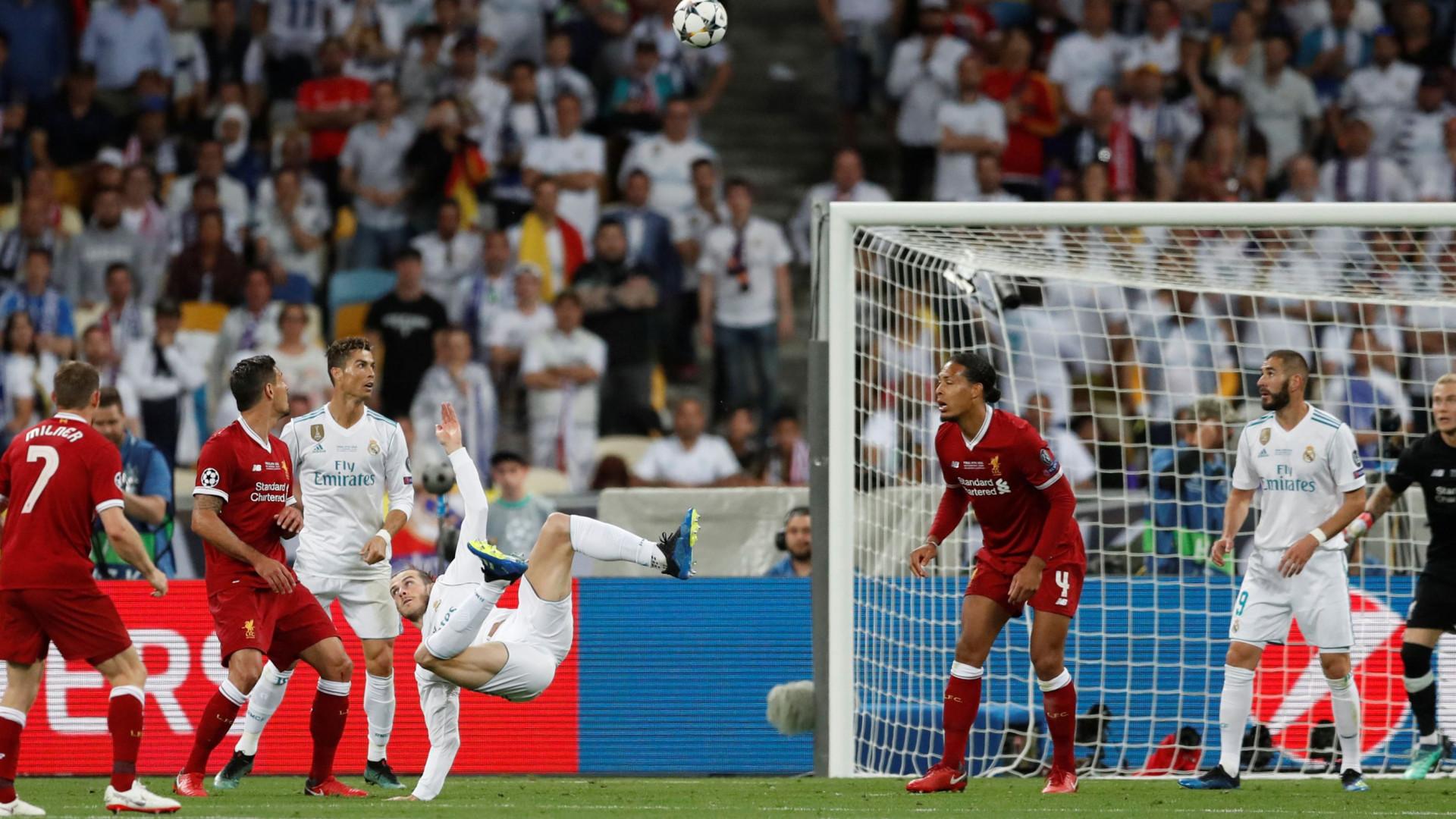 Champions é Real: Bale vestiu a pele de CR7 num duelo banhado em lágrimas