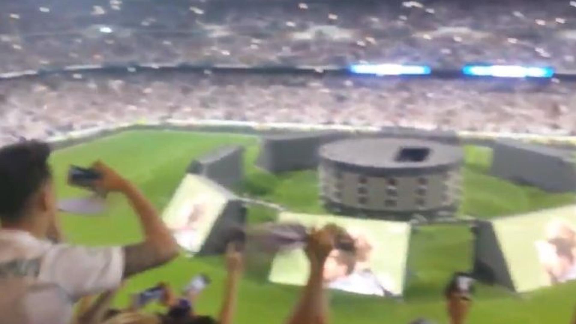 Real fez história em Kiev mas a festa fez 'tremer'... o Bernabéu