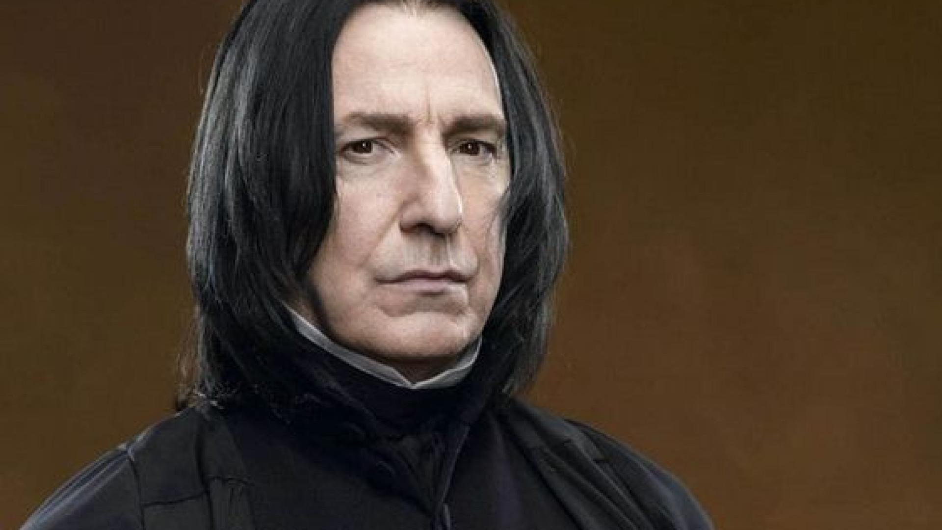 """Alan Rickman estava """"frustrado"""" com a sua personagem em 'Harry Potter'"""