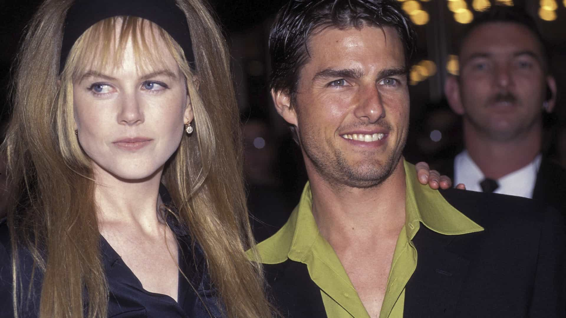 Nicole Kidman diz que casamento com Tom Cruise a protegeu de assédios