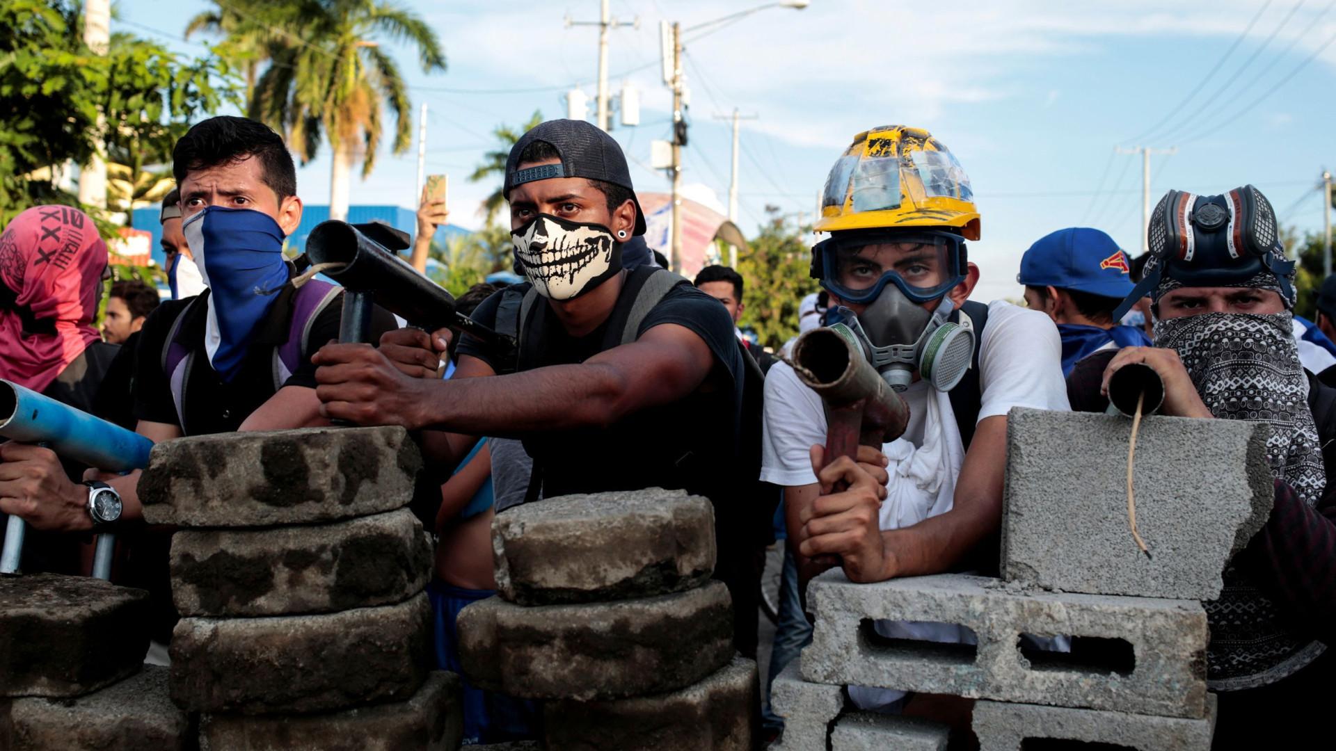 Número de mortos na crise de Nicarágua sobe para 135