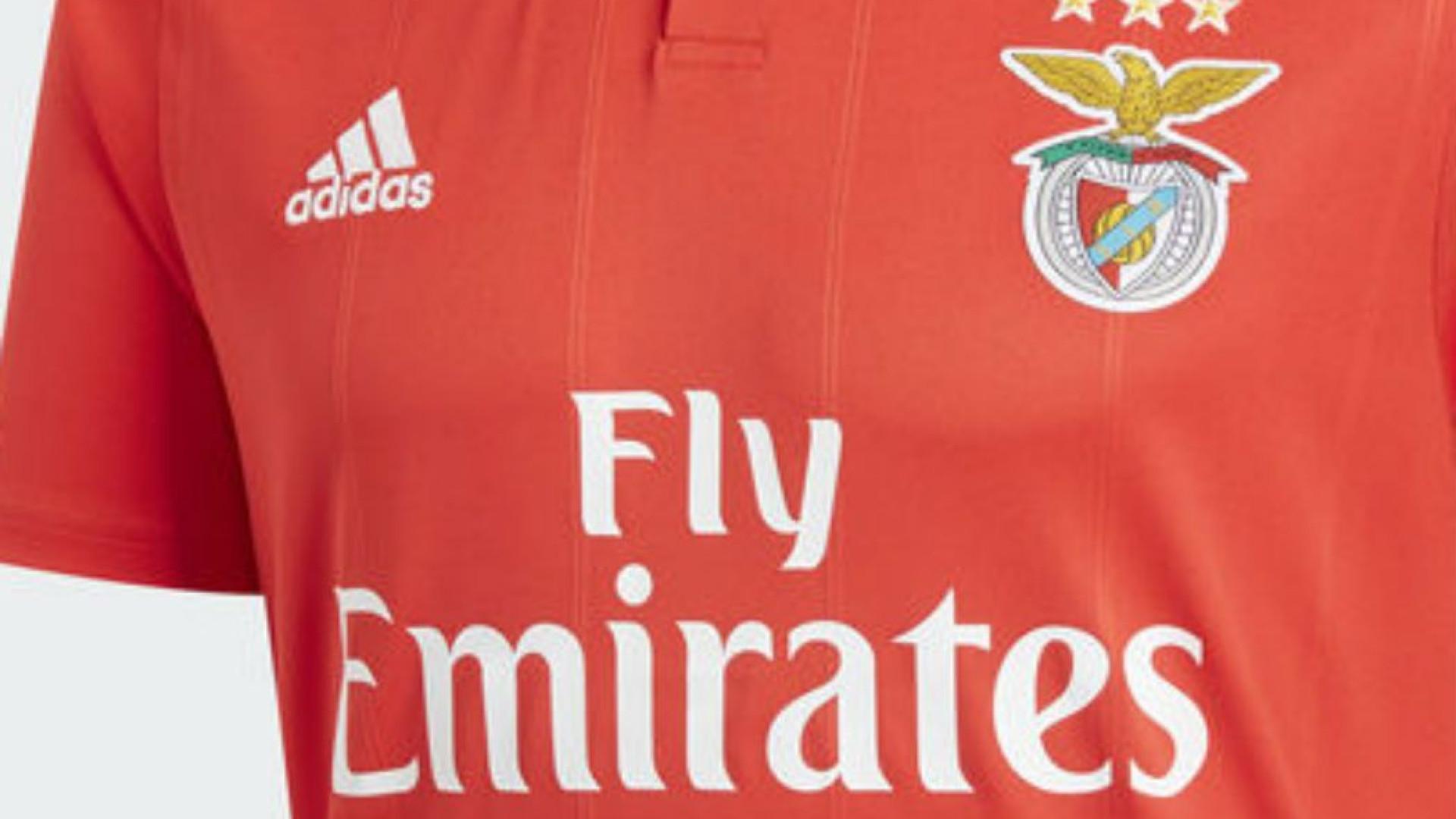 Eis a camisola do Benfica para a temporada 2018 2019 5318917075f59