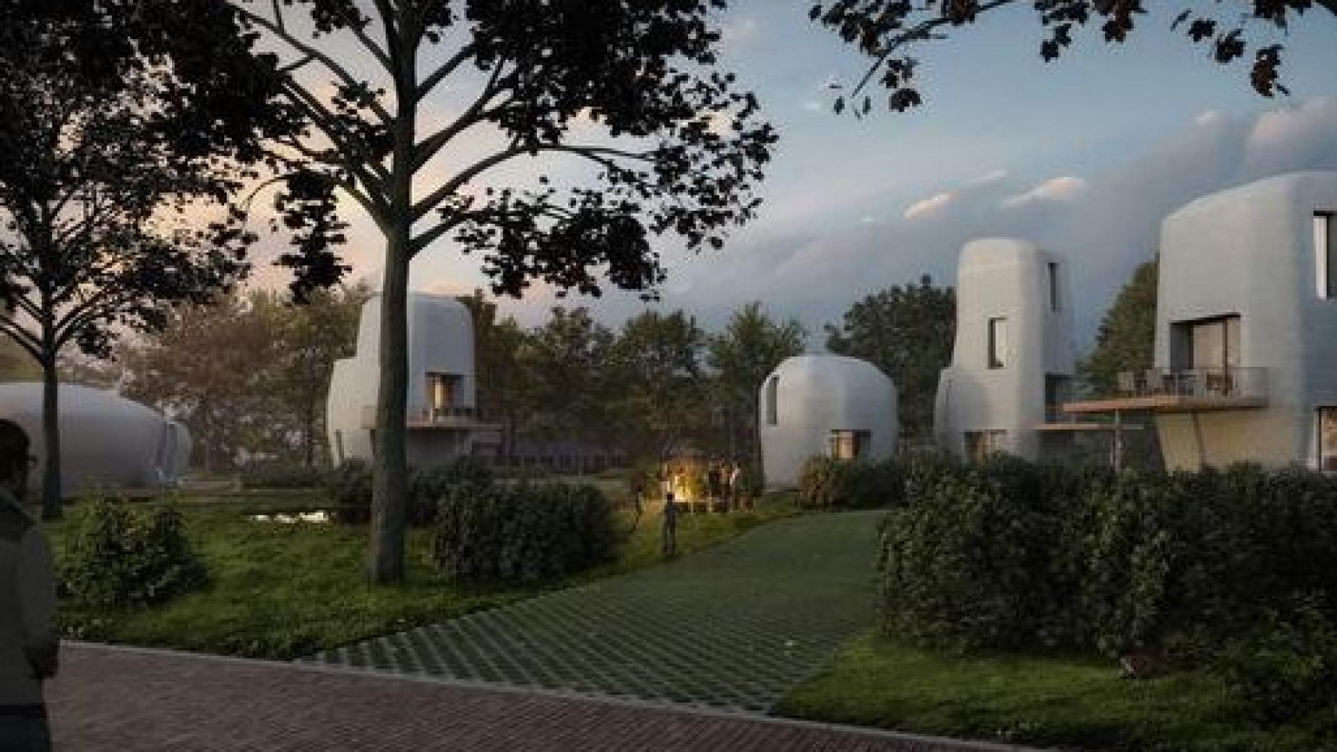 Primeiras casas feitas com impressão 3D construídas na Holanda