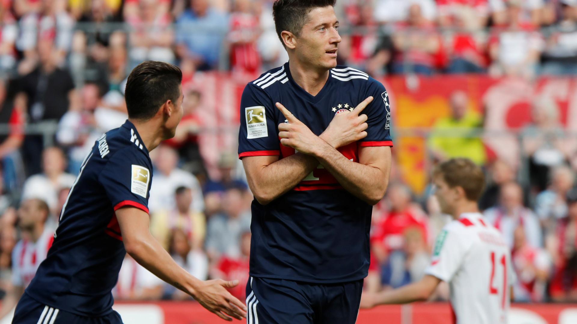 5a3ebaa98c Bayern não facilita e estipula preço astronómico para vender Lewandowski