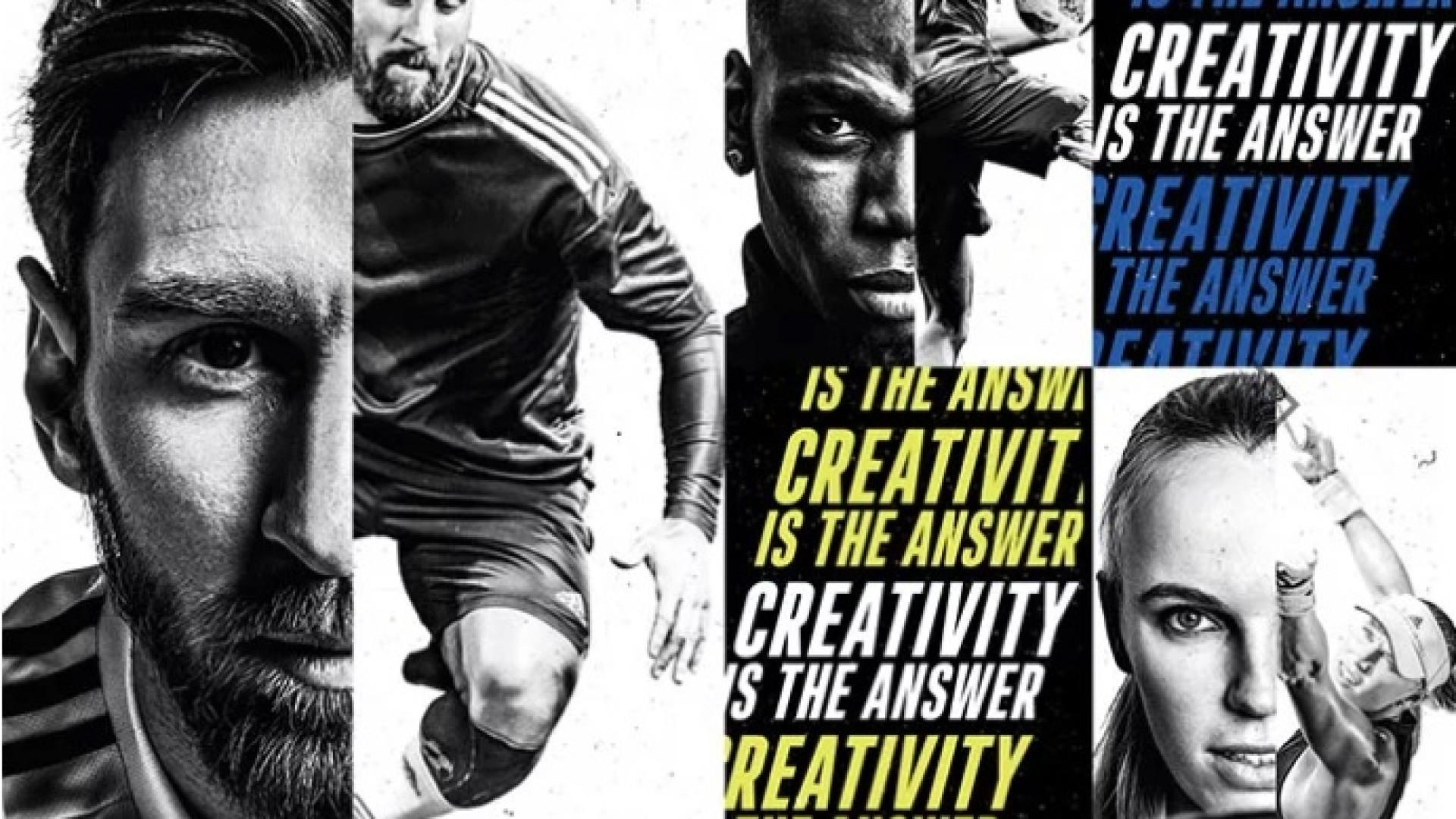 Para a Adidas, a criatividade é a resposta