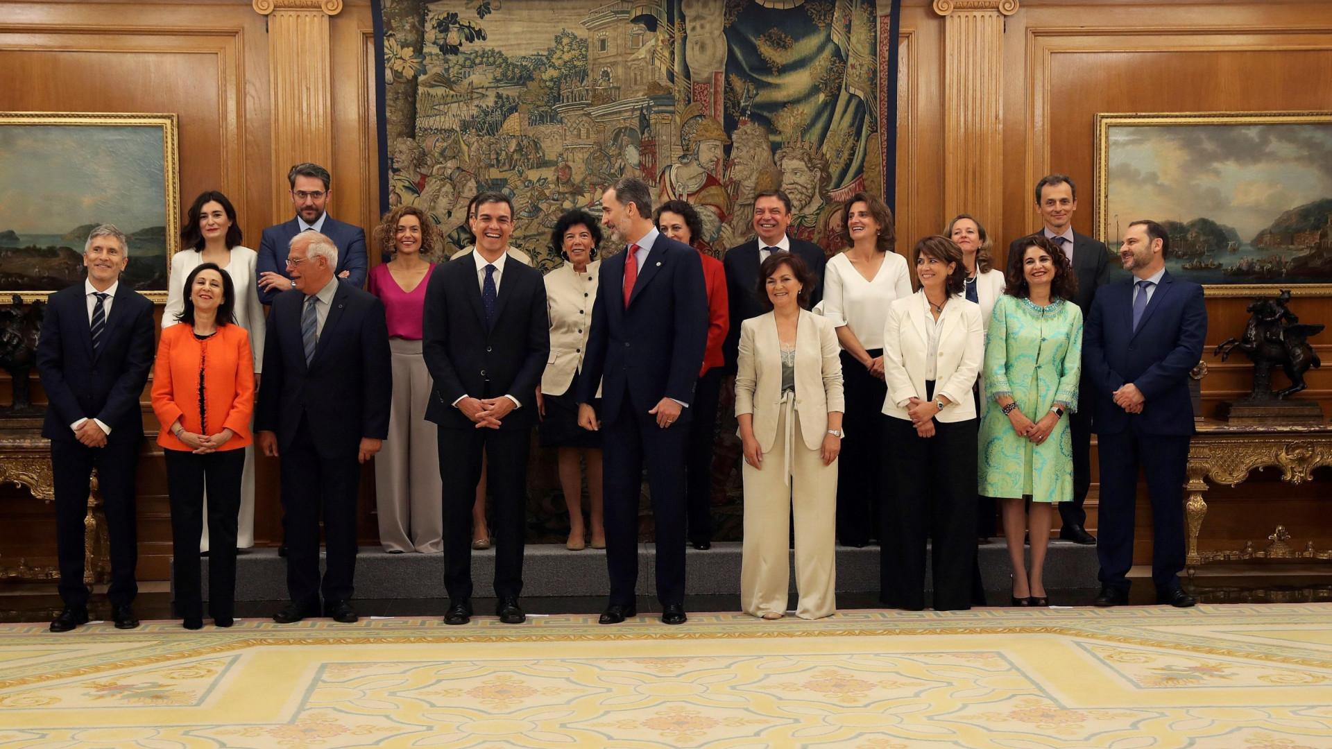 Novo governo espanhol de Pedro Sanchéz tomou posse