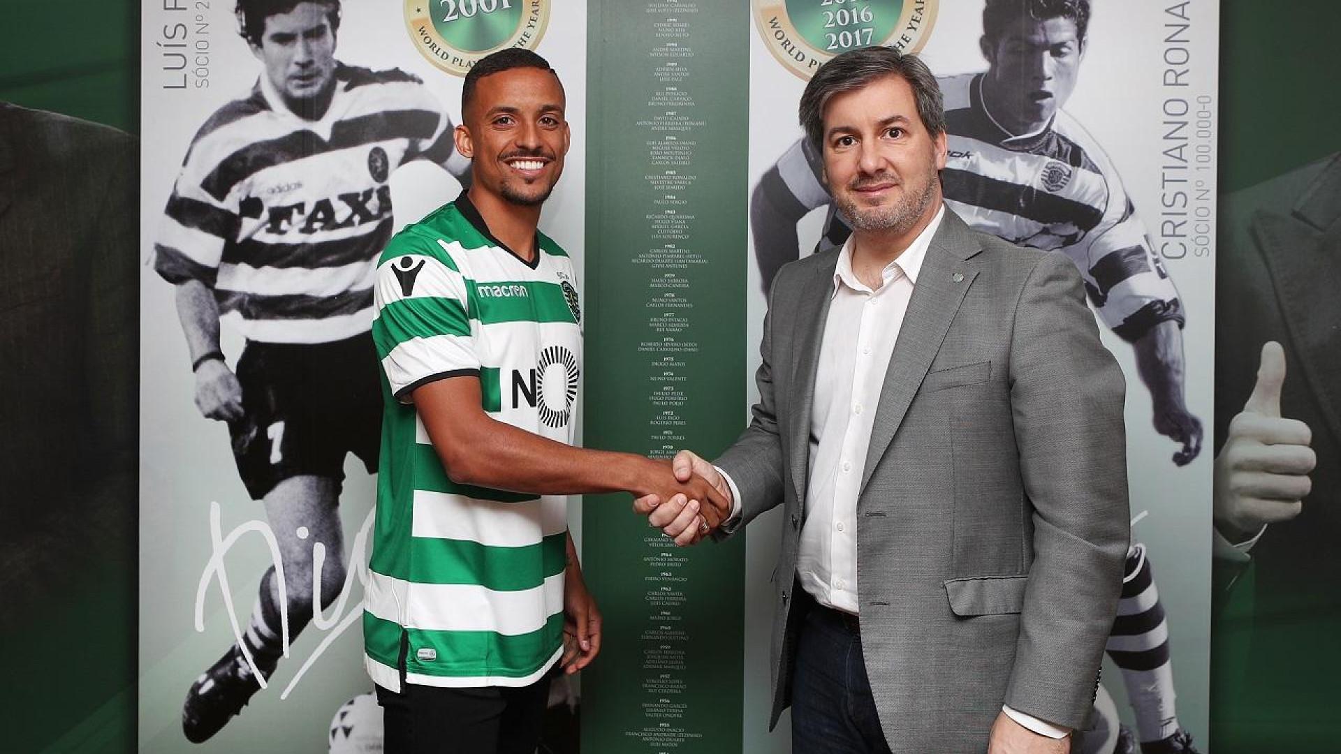 Bruno Gaspar oficializado como reforço do Sporting