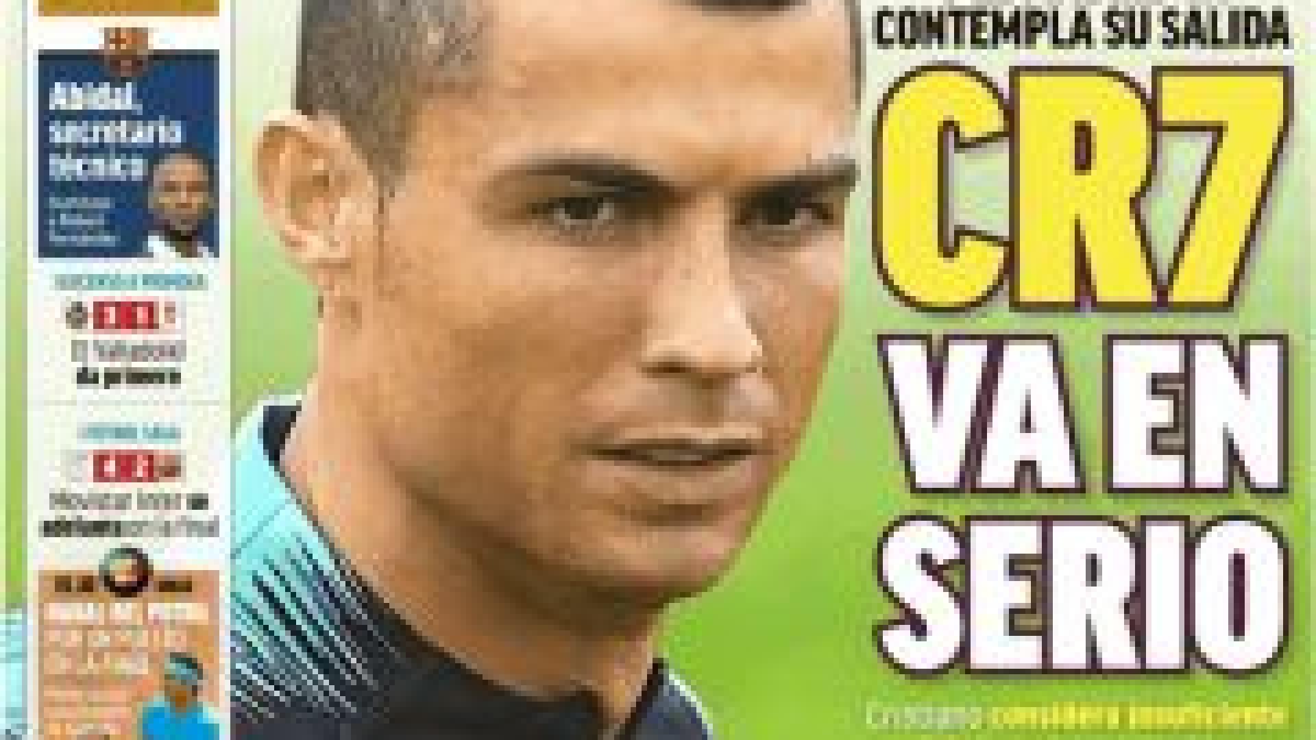 Lá por fora: Entre o adeus de Ronaldo e o regresso de Abidal