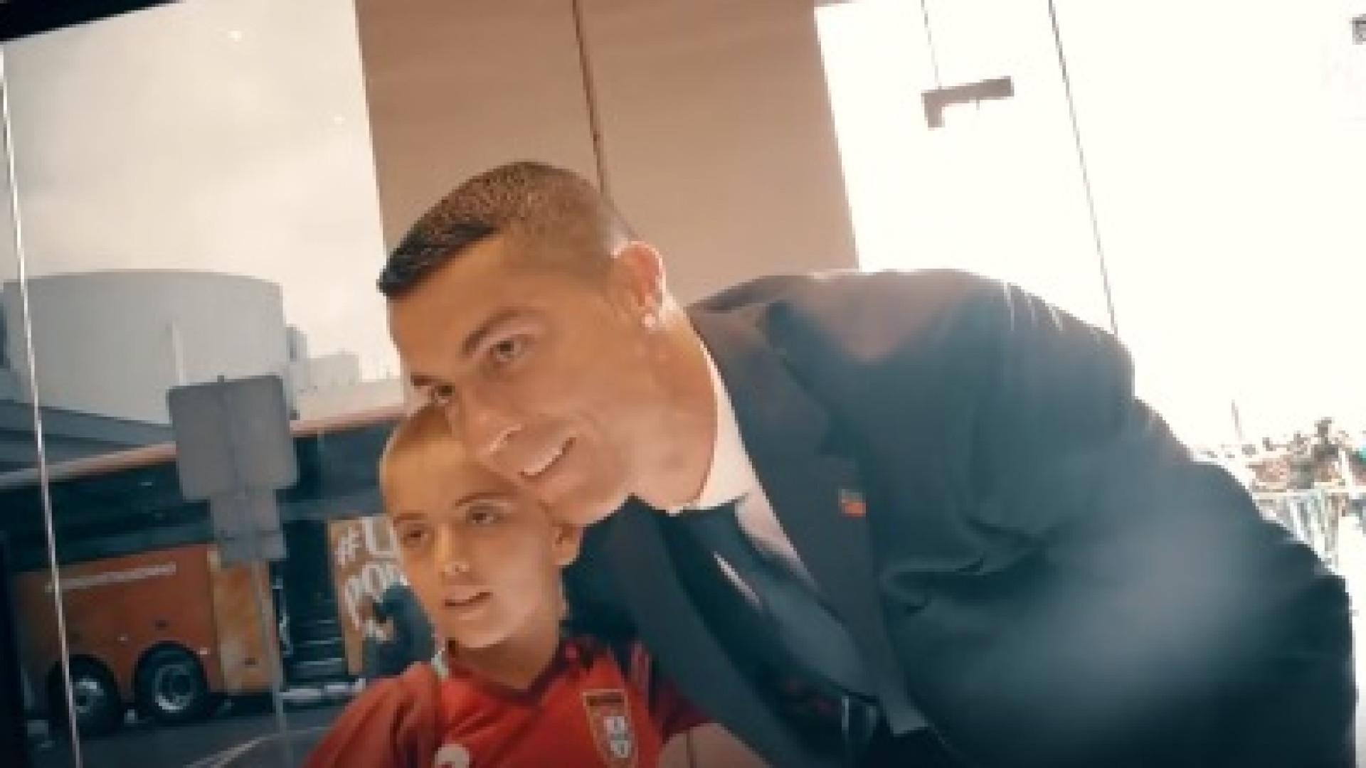A viagem da Seleção Nacional para a Rússia contada em 70 segundos