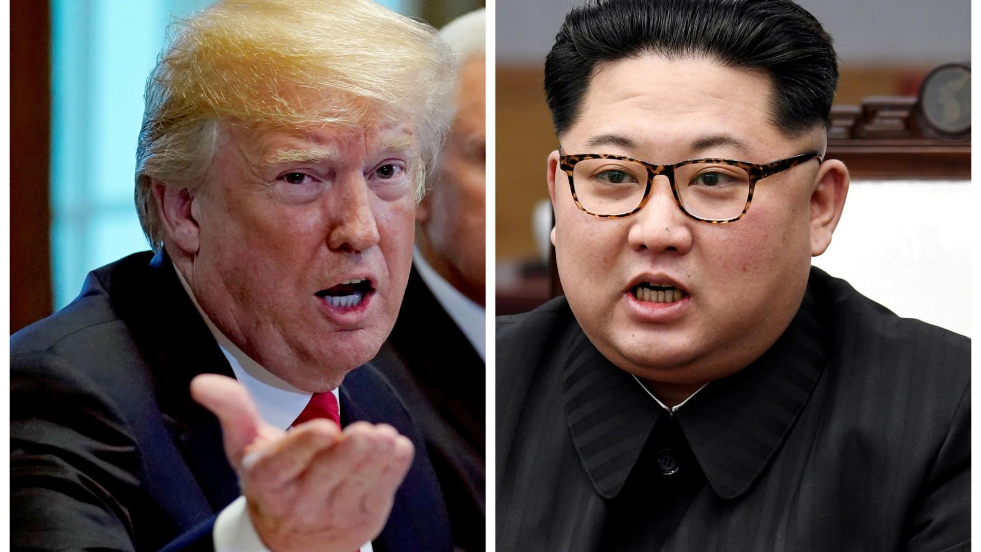 O percurso até à histórica cimeira de Trump e Kim