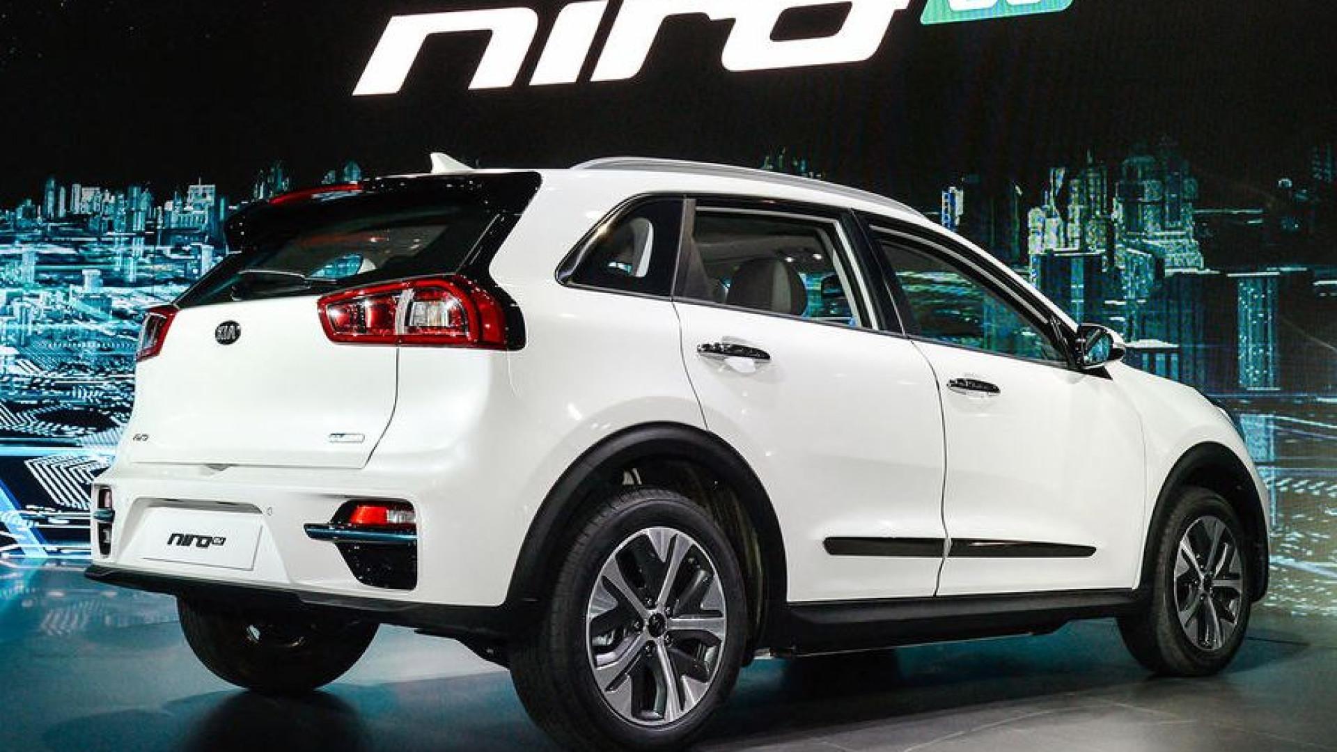 Kia Niro 100% elétrico apresentado na Coreia