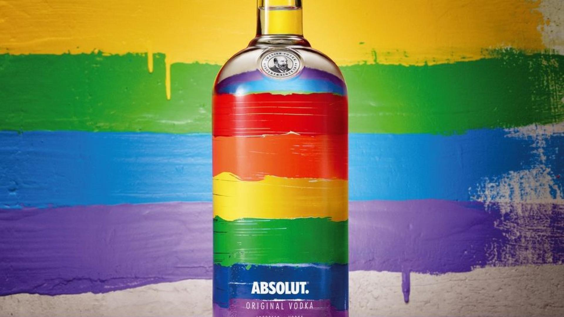 No mês do orgulho LGBTI, a Absolut Vodka apoia a diversidade