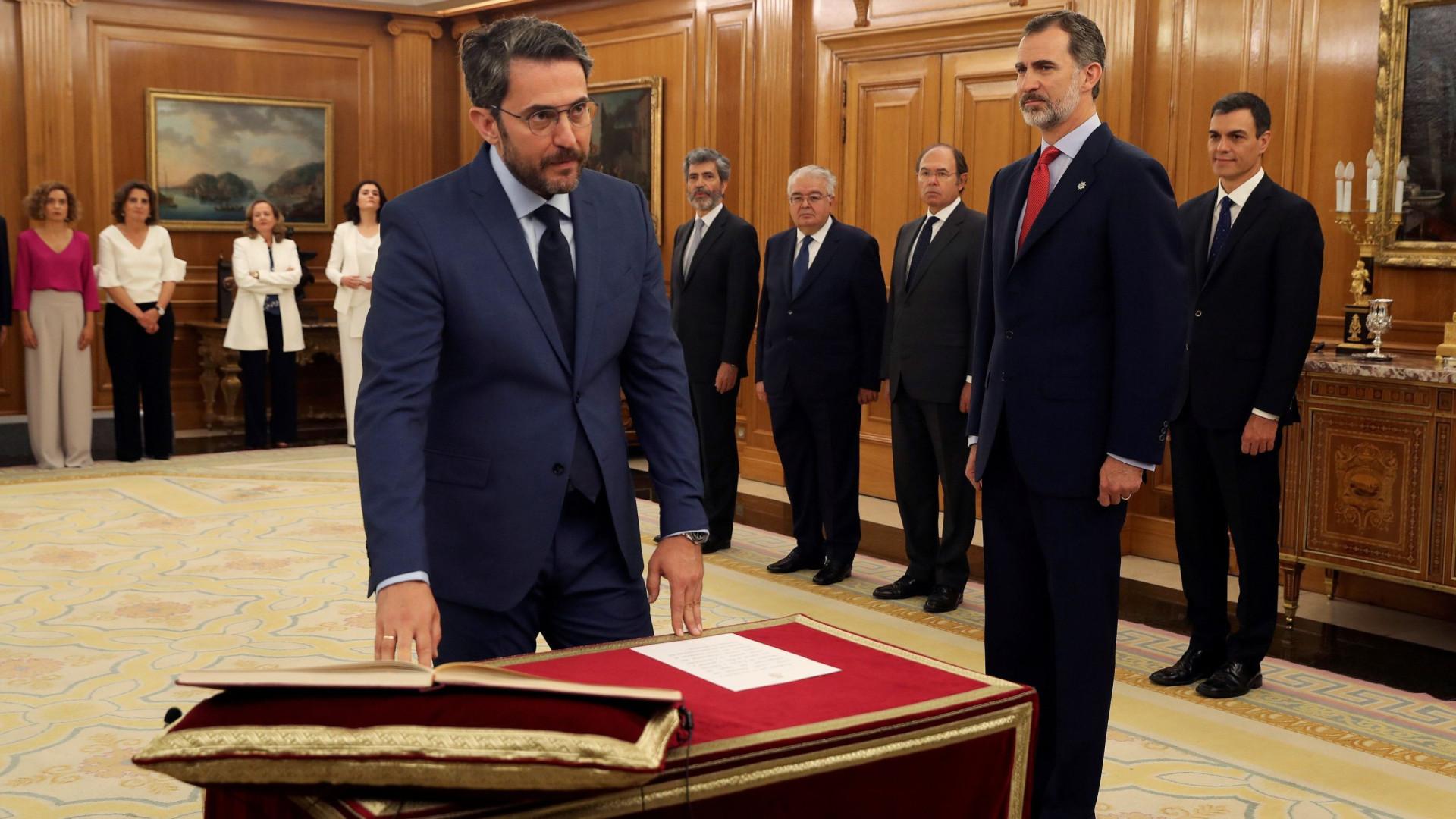 Ministro da Cultura e Desporto espanhol demite-se